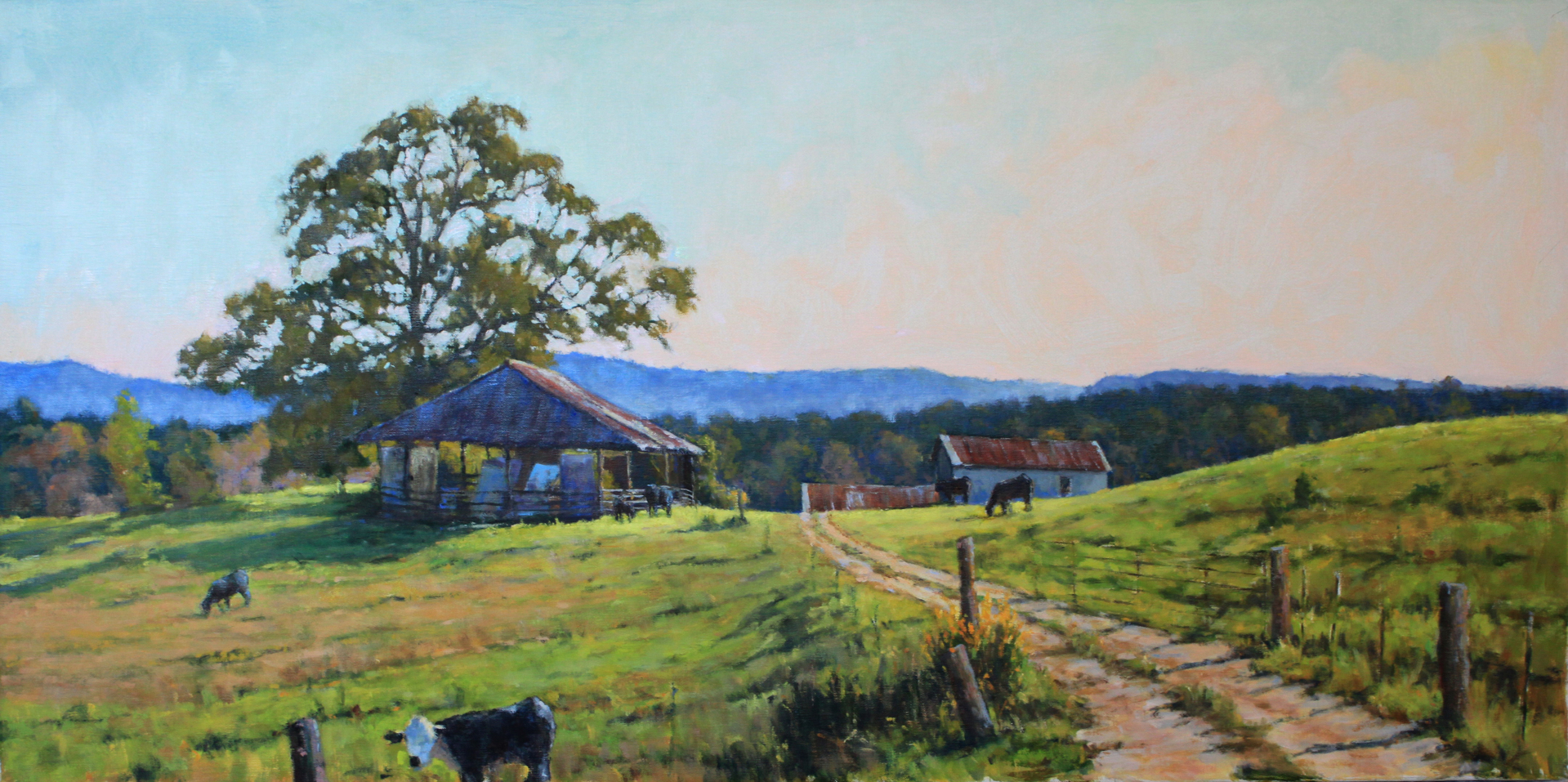 Mountain Oak Farm by Perry Austin