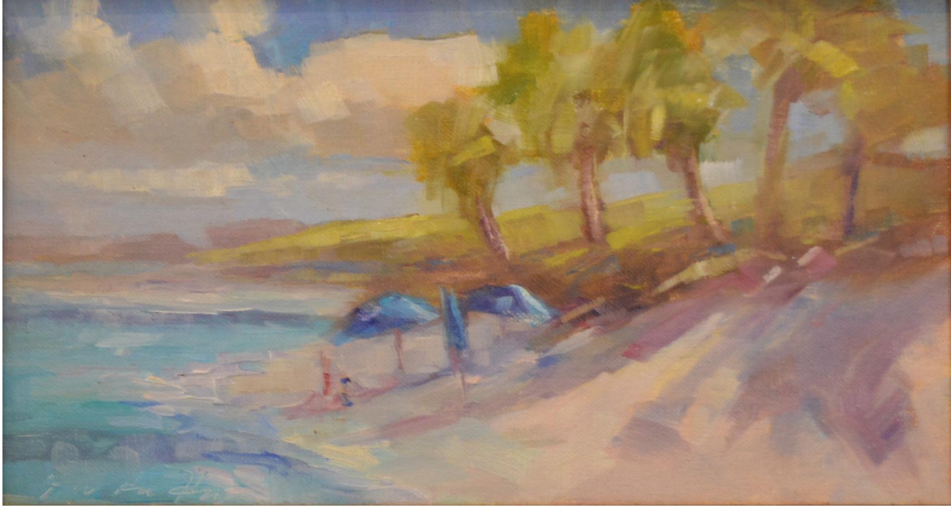 Hope Town Beach  by Karen Hewitt Hagan