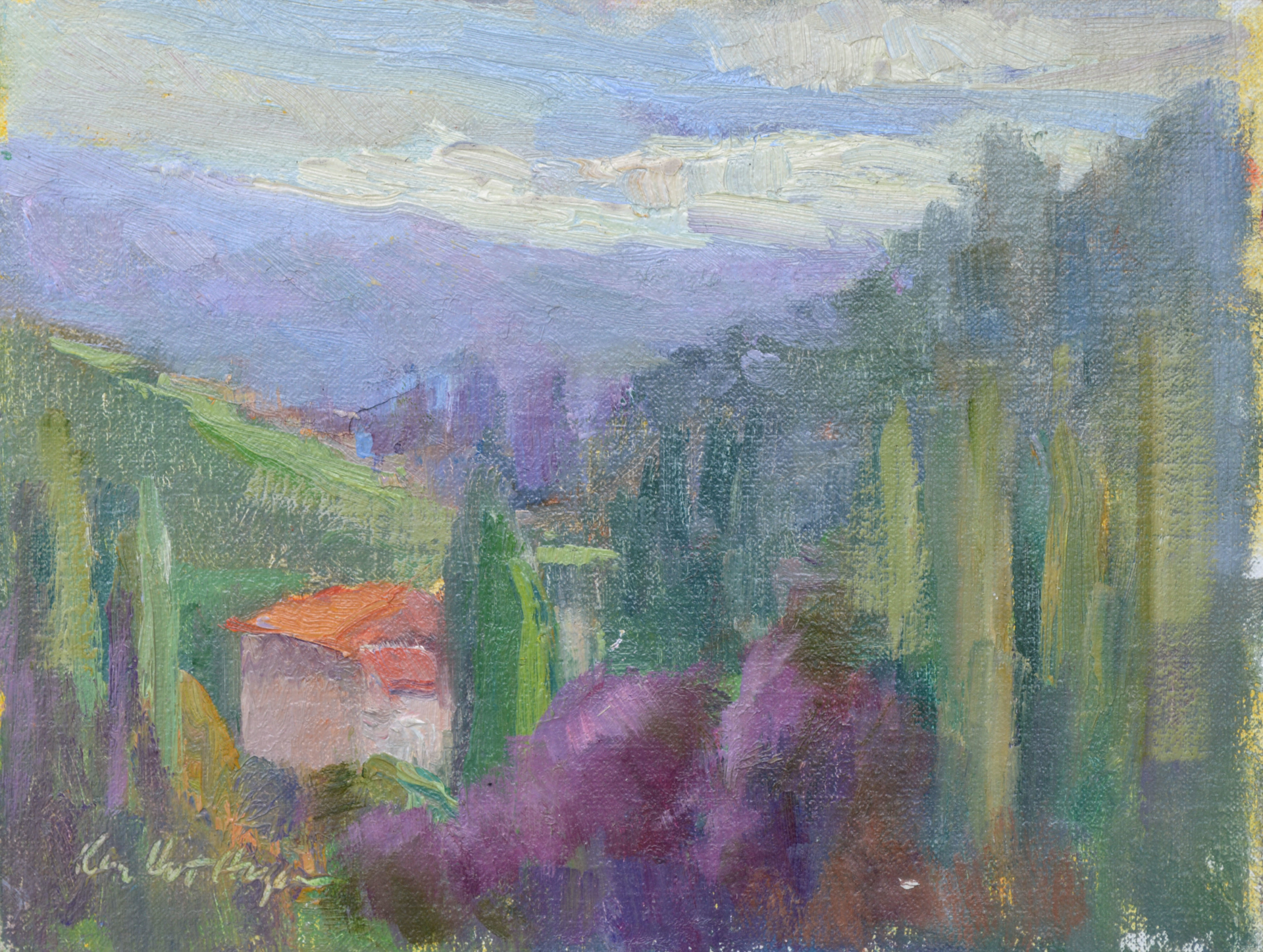 Afternoon in the South of France by Karen Hewitt Hagan