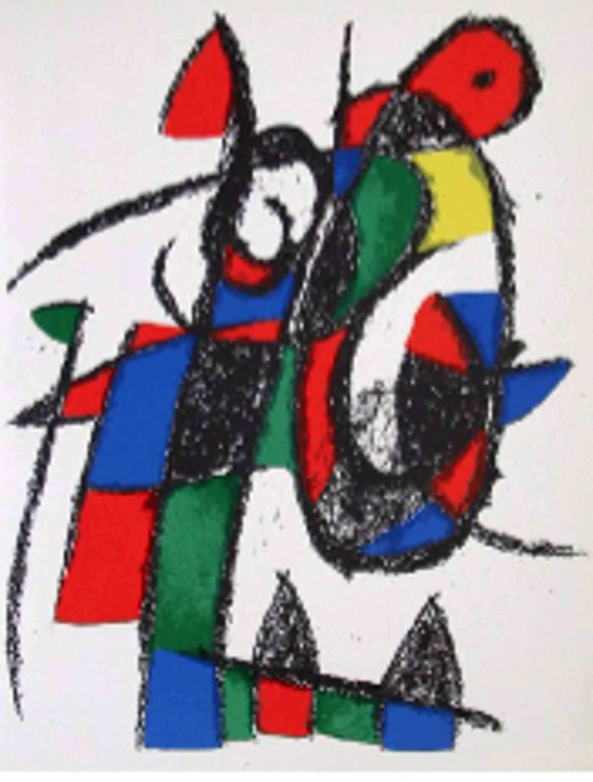 Miro Engravings Volume II Plate II by Joan Miro (1893 - 1983)
