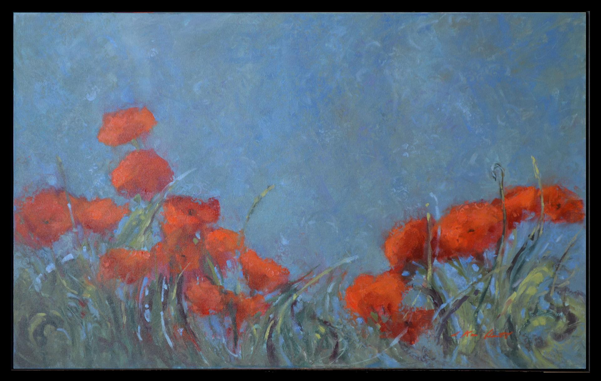 Blue Monday by Karen Hewitt Hagan