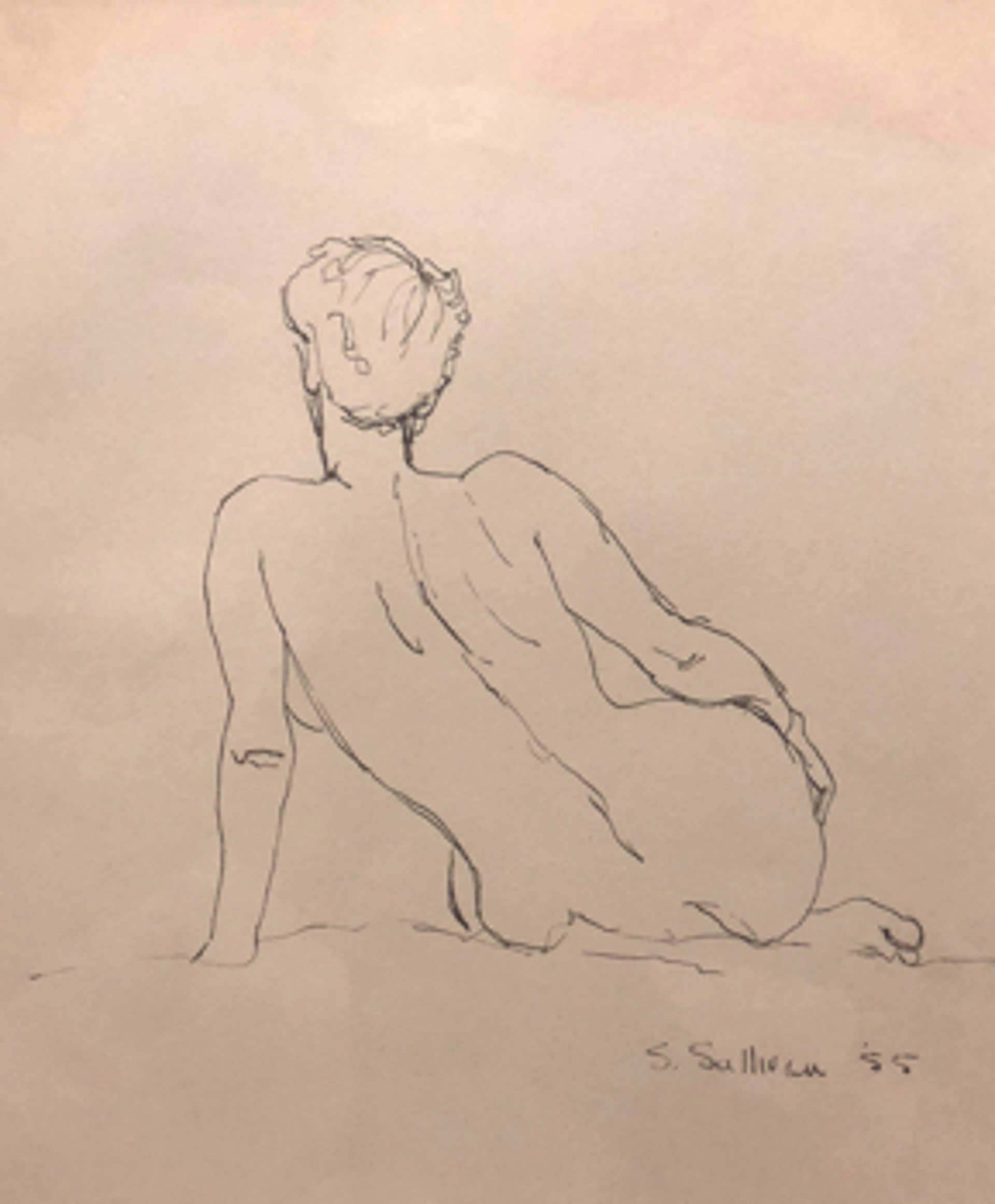 Nude Sketch 2 by Stella Sullivan