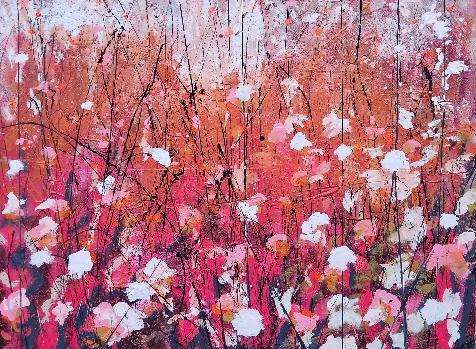 Blissful Blossoms by Kevin Greer