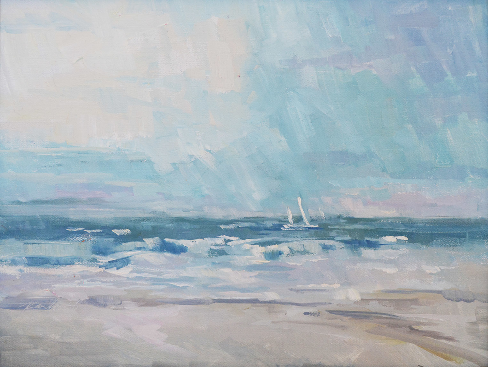 Beach Days by Karen Hewitt Hagan