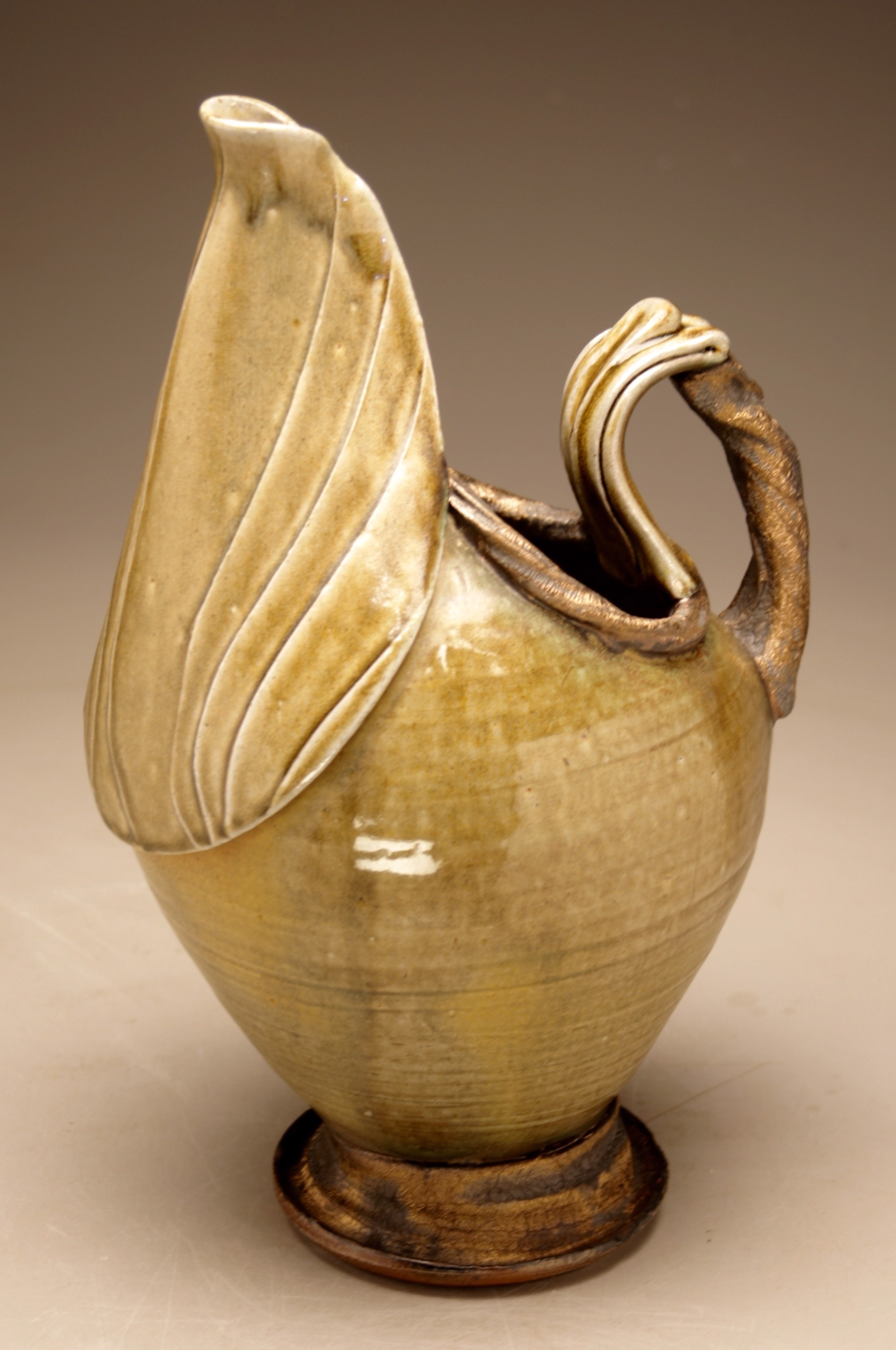 Large Footed Pitcher by Josh DeWeese