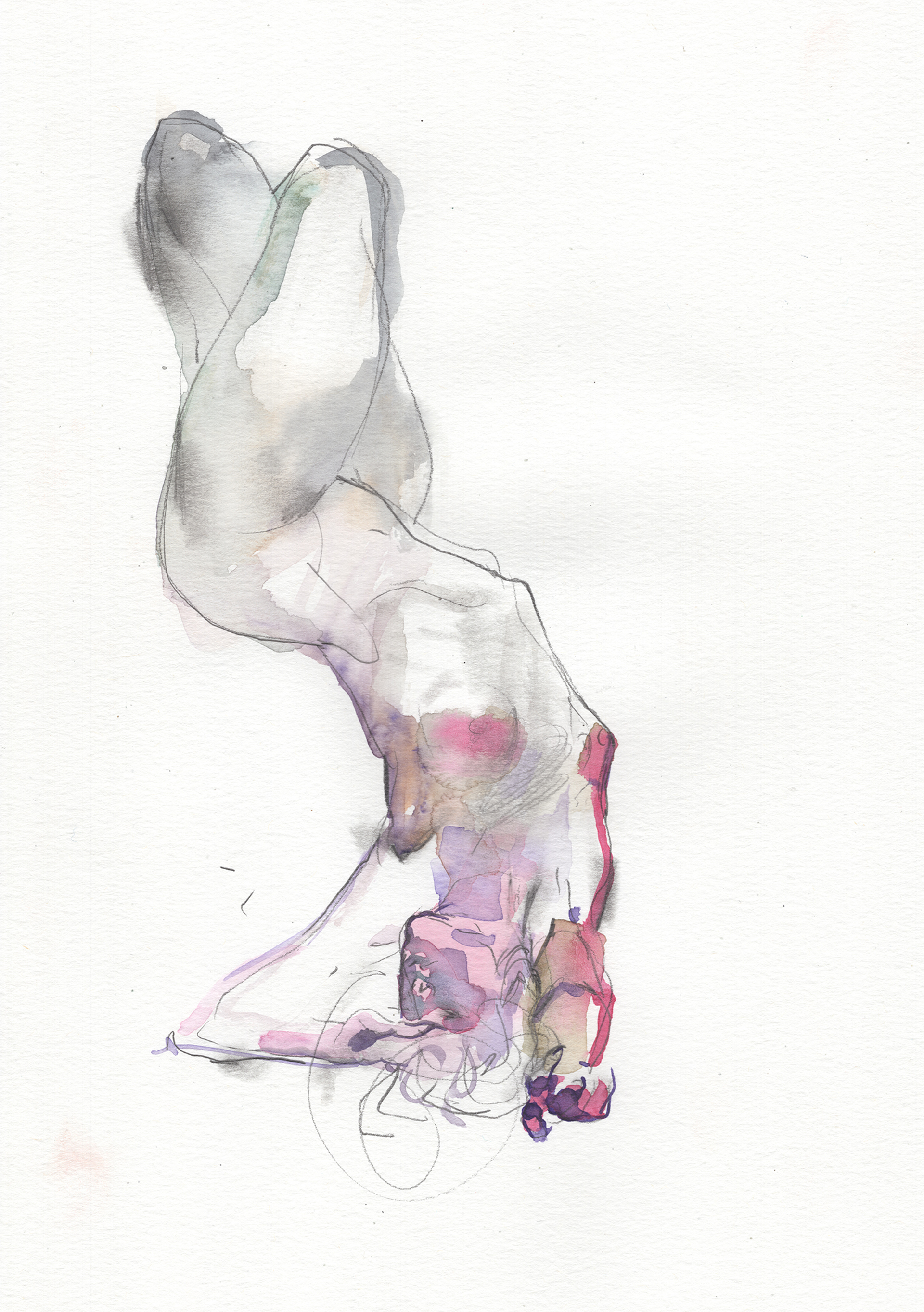Watercolor Gesture 03 by Eliza Ivanova