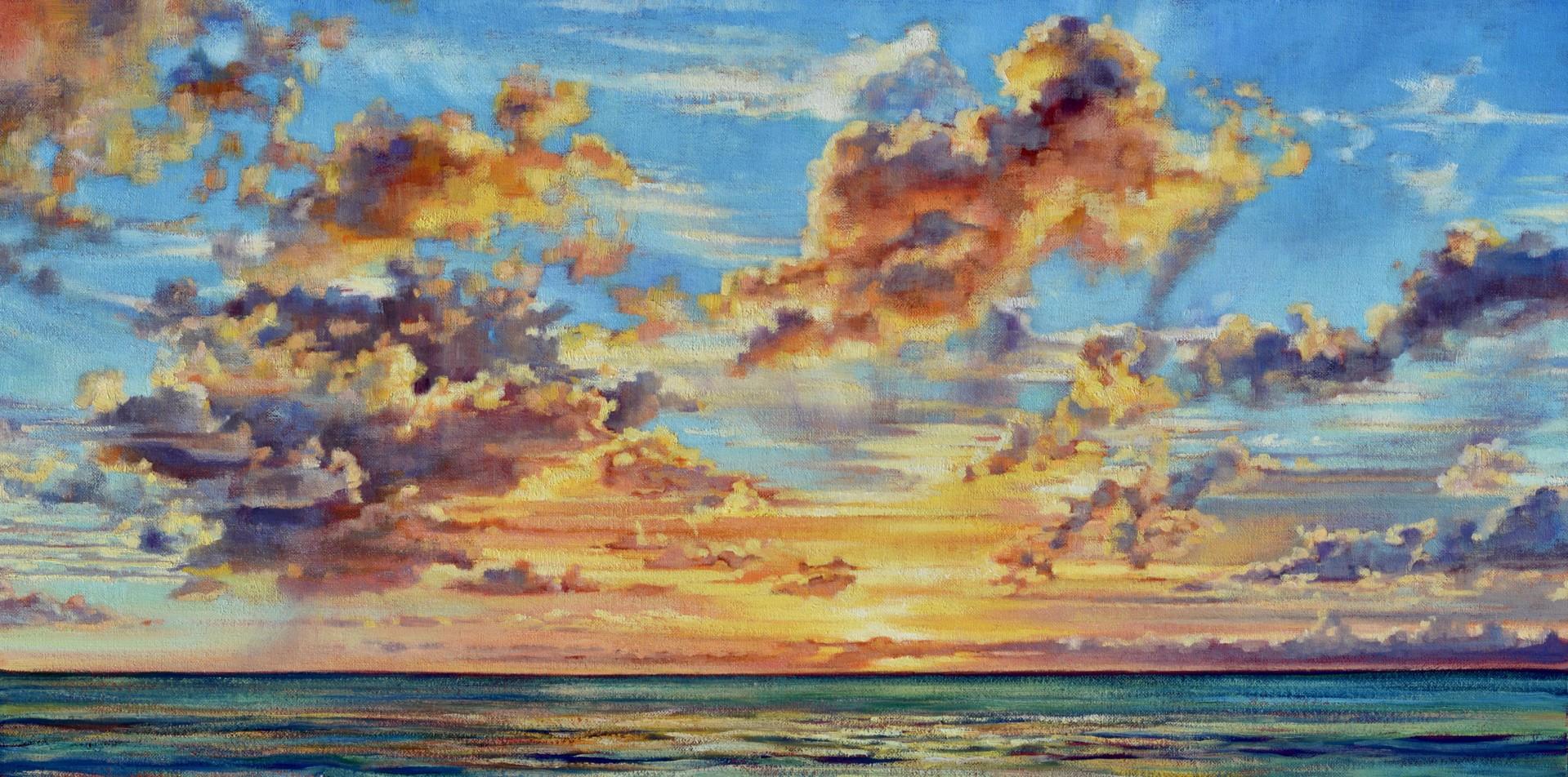 Solstice Sunset by Caroline Zimmermann