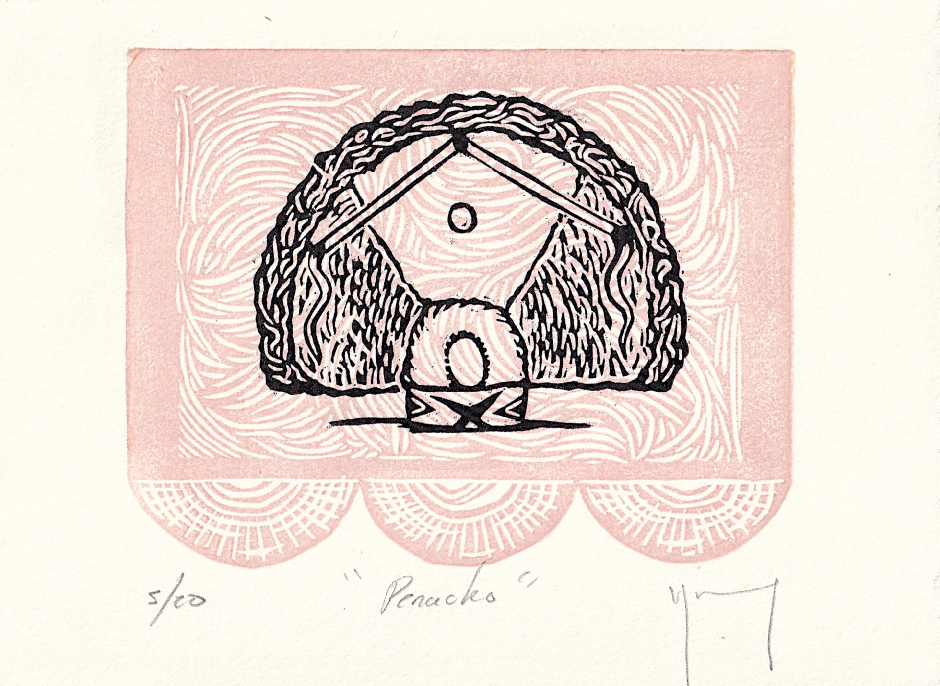 Serie Oaxaca (Penacho) by Miguel Jimenez Martinez