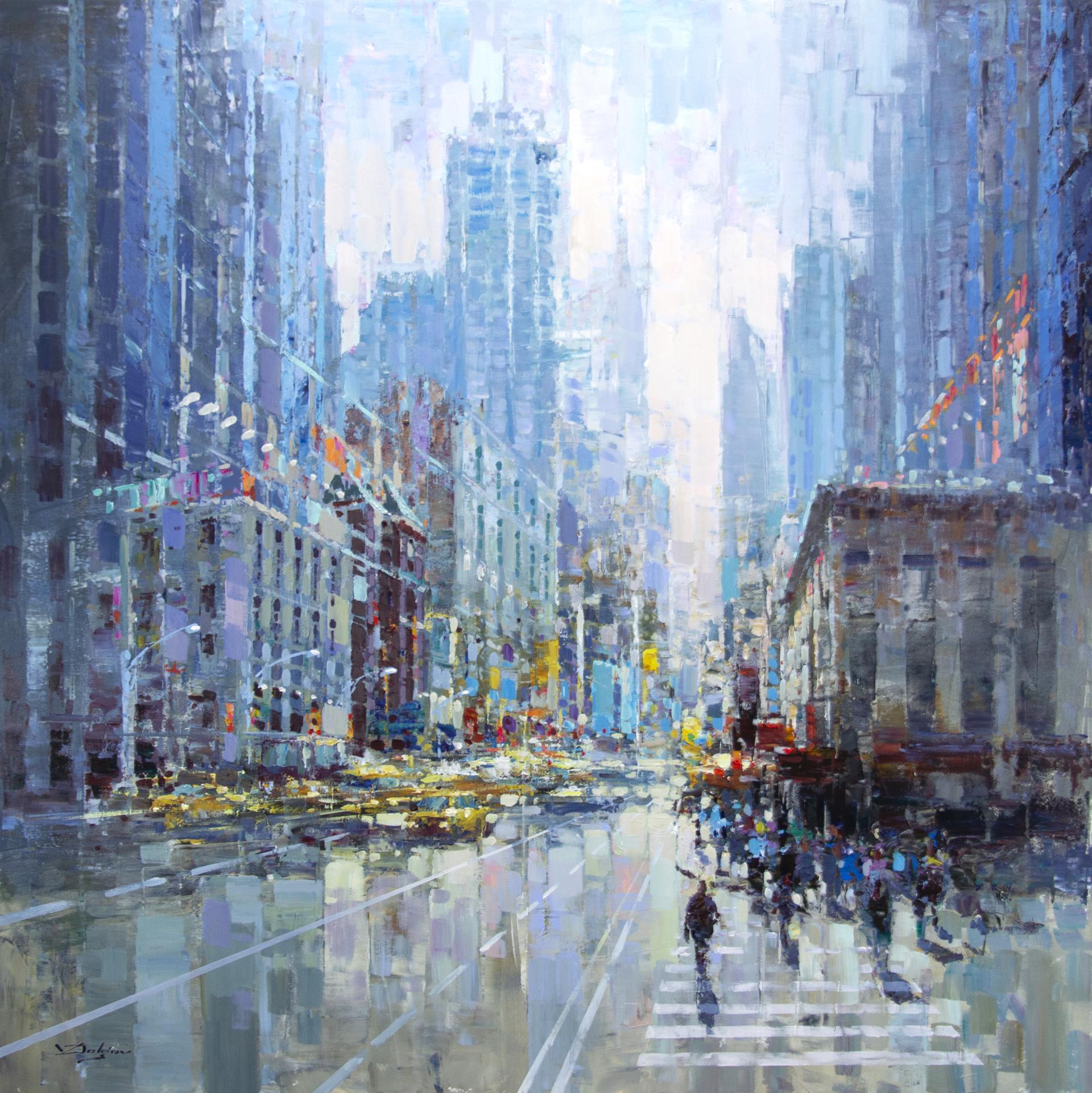 City Life - NYC by Vadim Dolgov