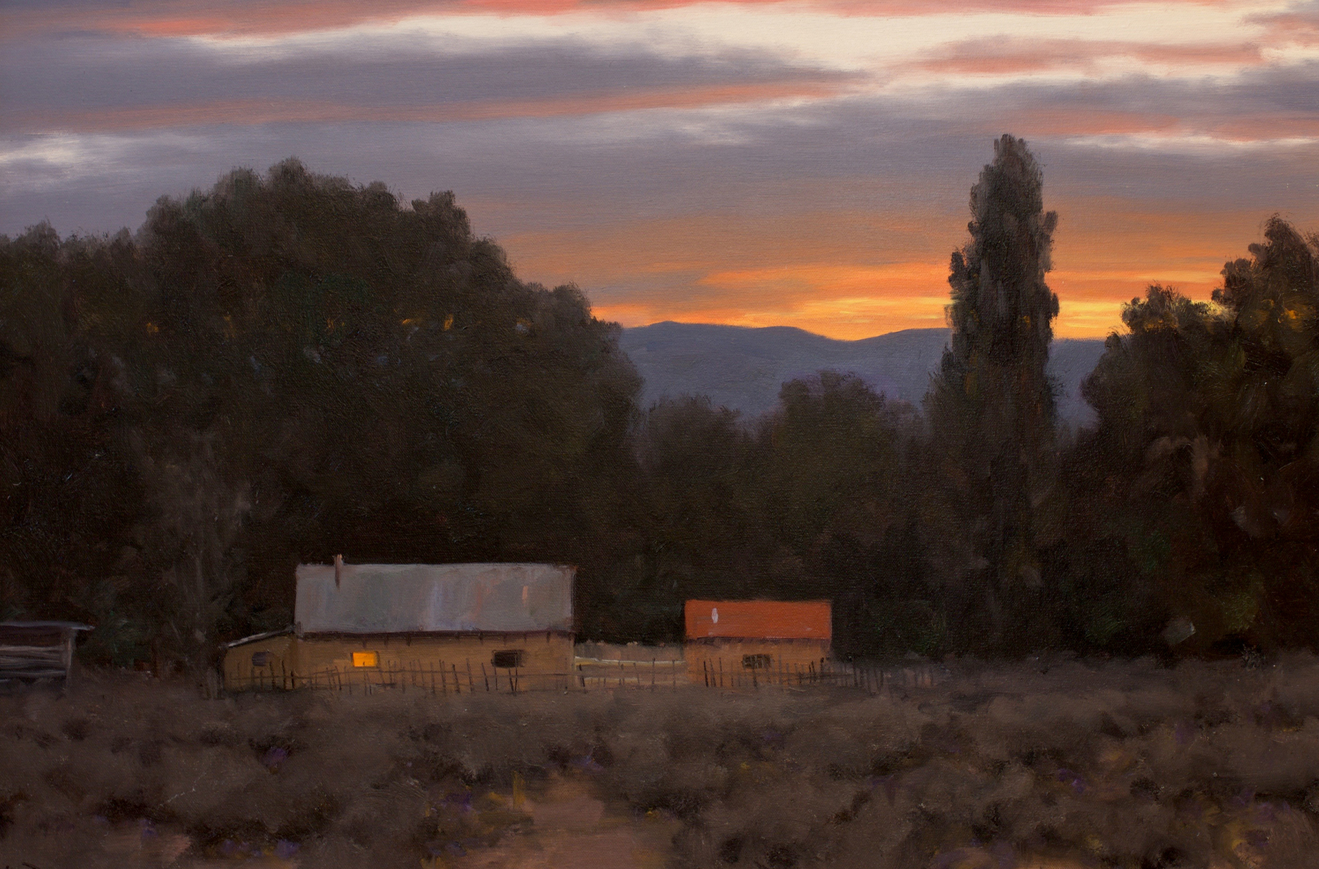 In the Late Evening Light by Stephen Day