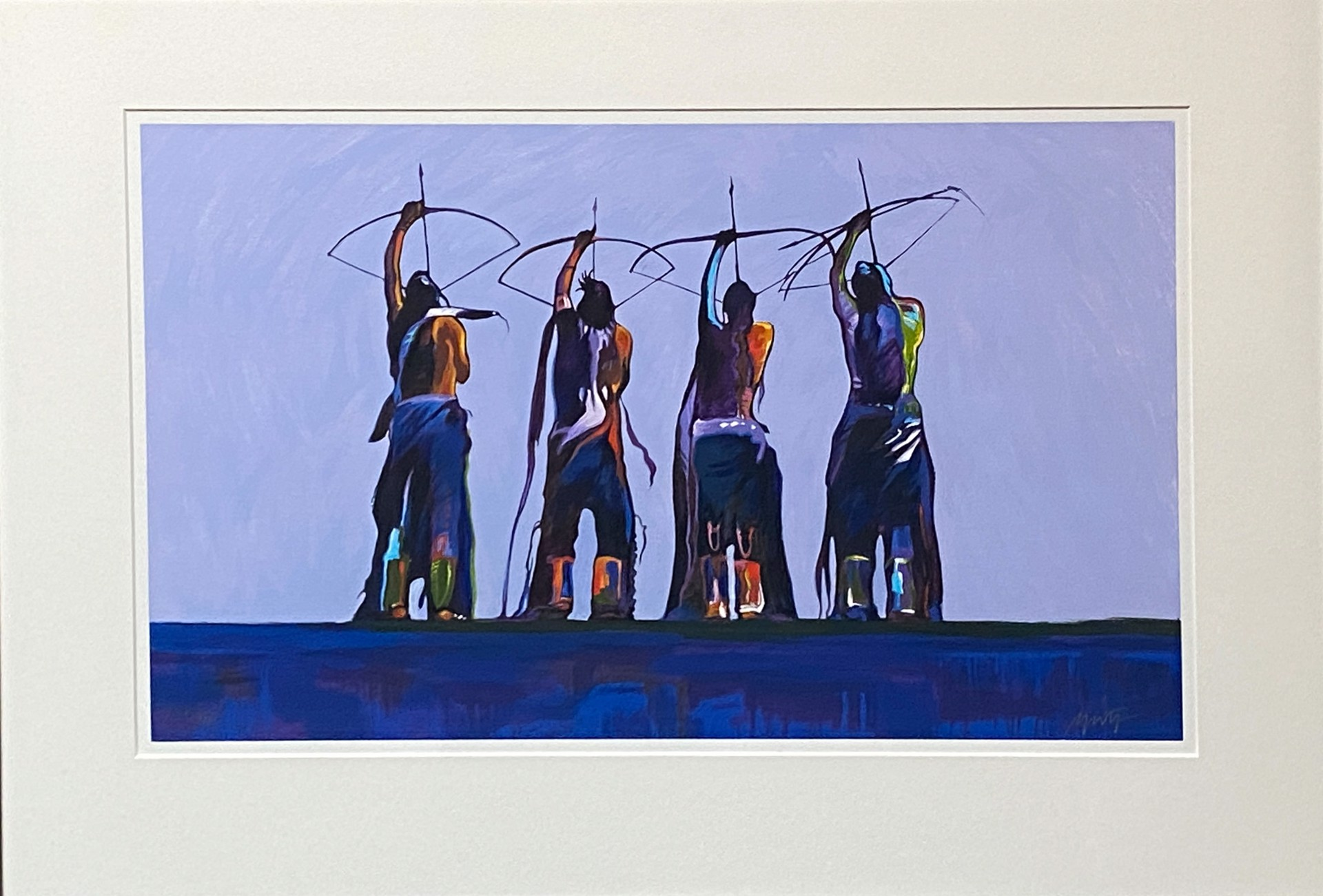 Archers by John Nieto