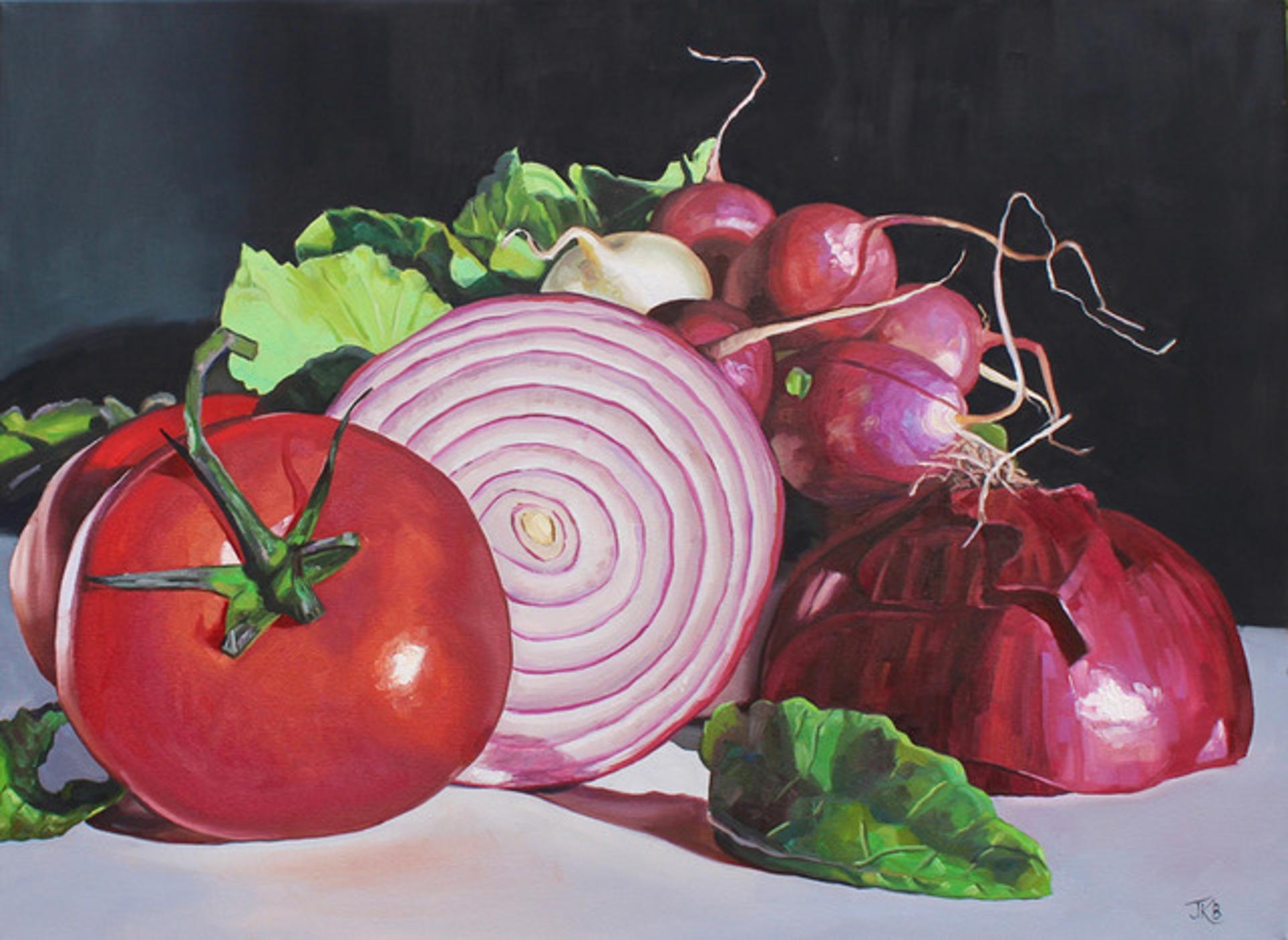 Eat Your Vegetables by Jennifer Barlow