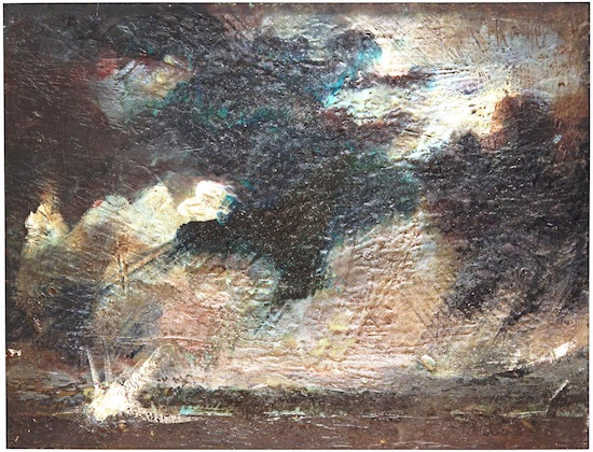 Marine Nightscape I by Macuria Montolanez
