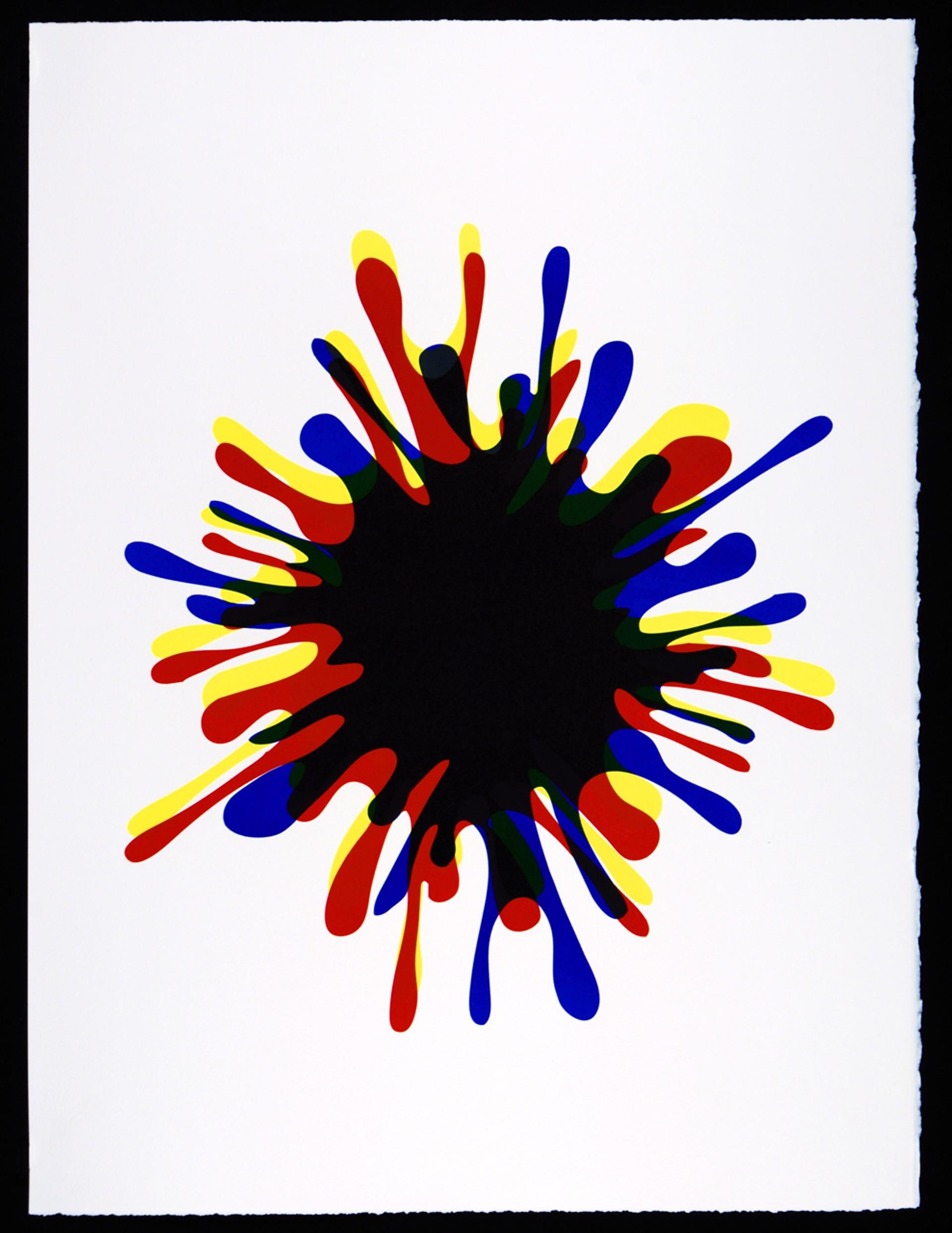 Spirale Blanche by John Armleder