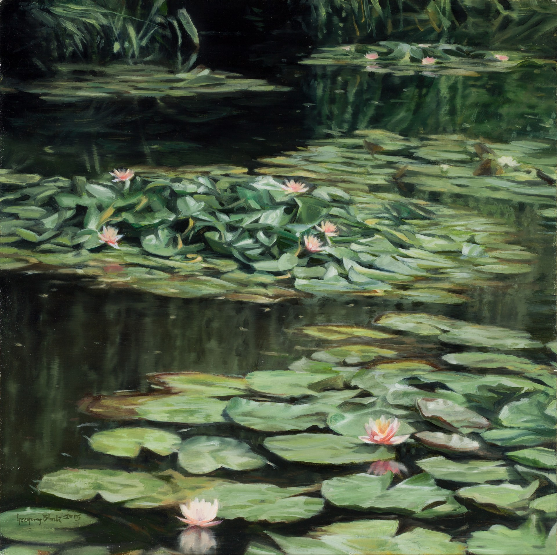 At Giverny by Gregory Block