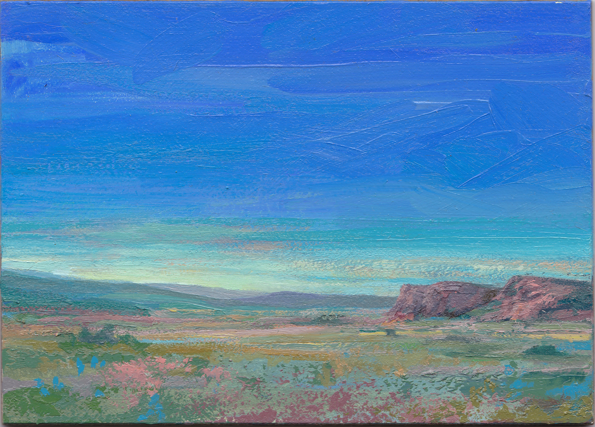 Skyline - Afternoon by Charis Carmichael Braun