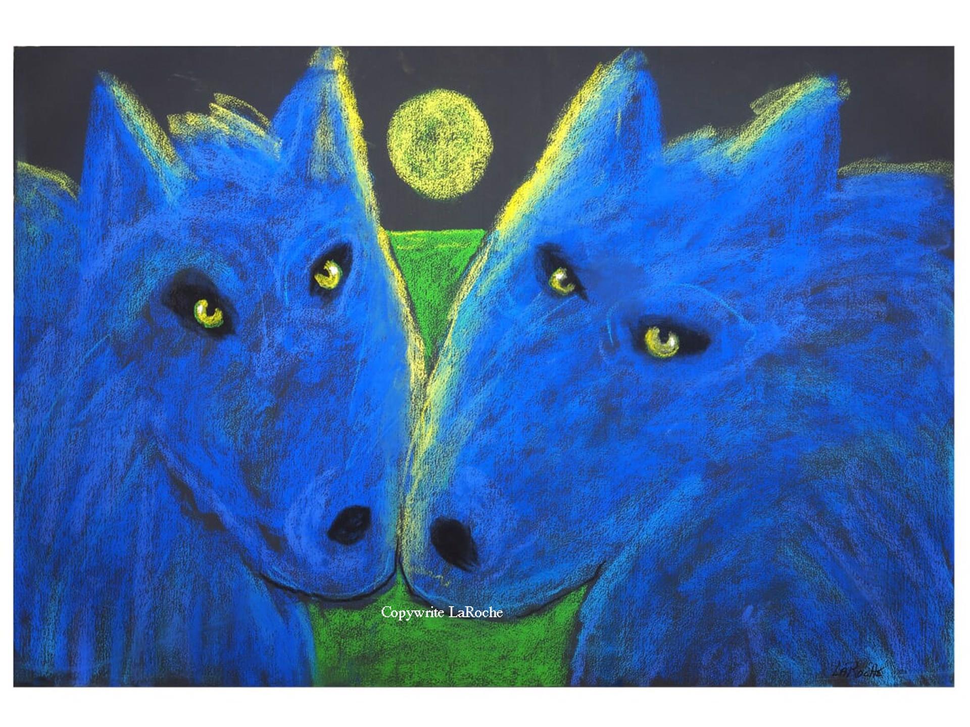 Wild Blue Soulmates by Carole LaRoche