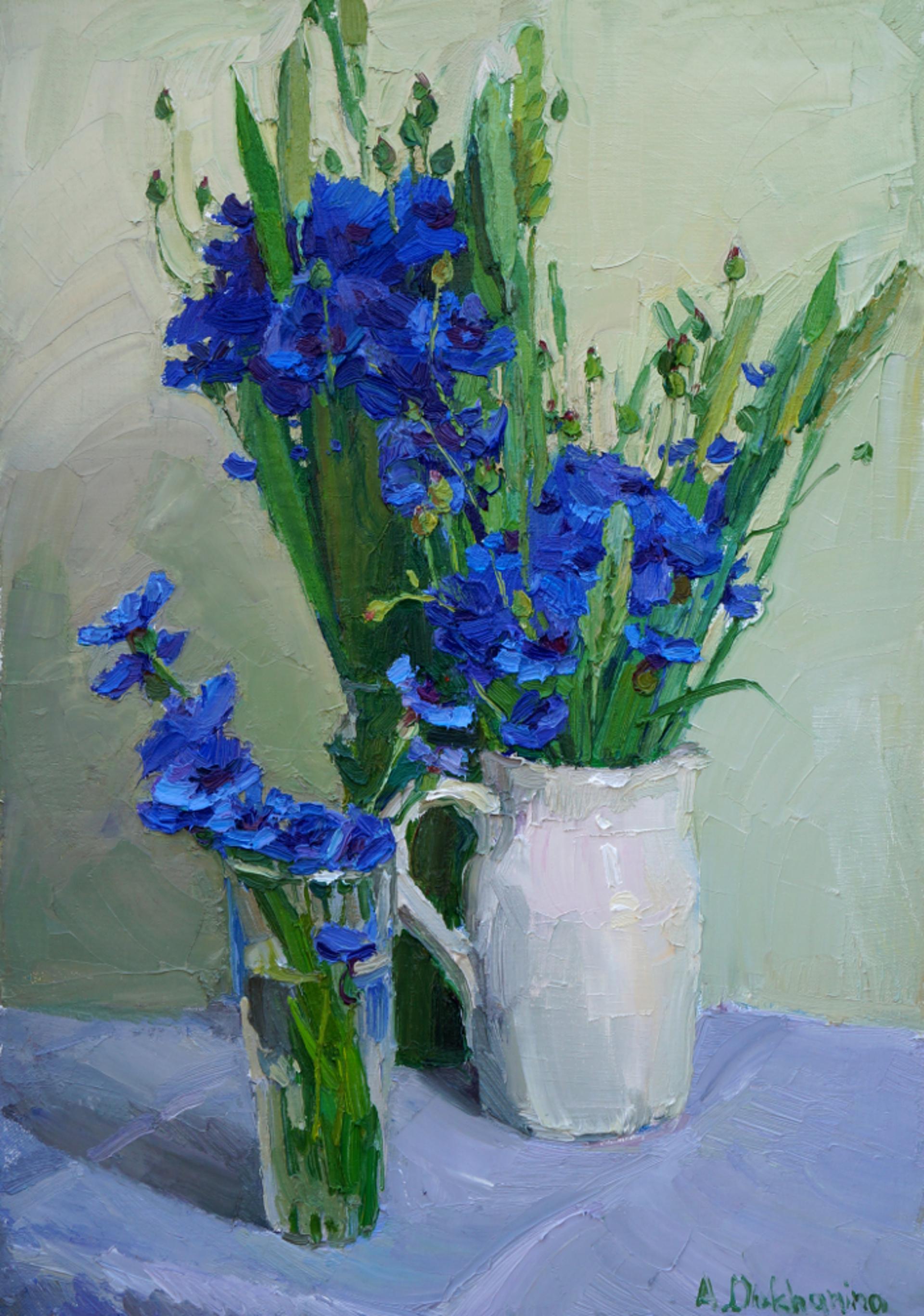 Corn Flowers by Anastasia Dukhanina