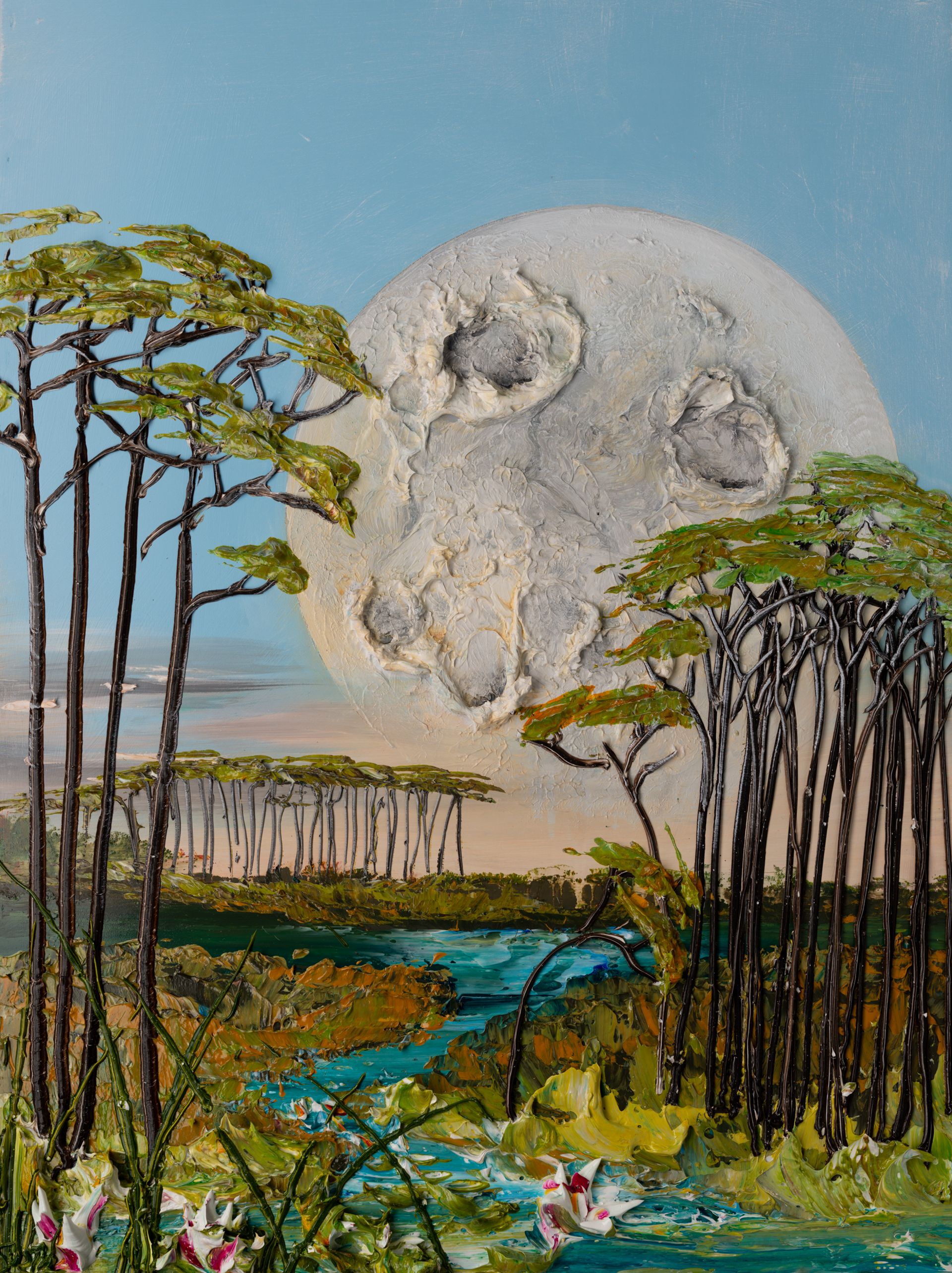 MOONSCAPE MS-30x40-2019-309 by JUSTIN GAFFREY