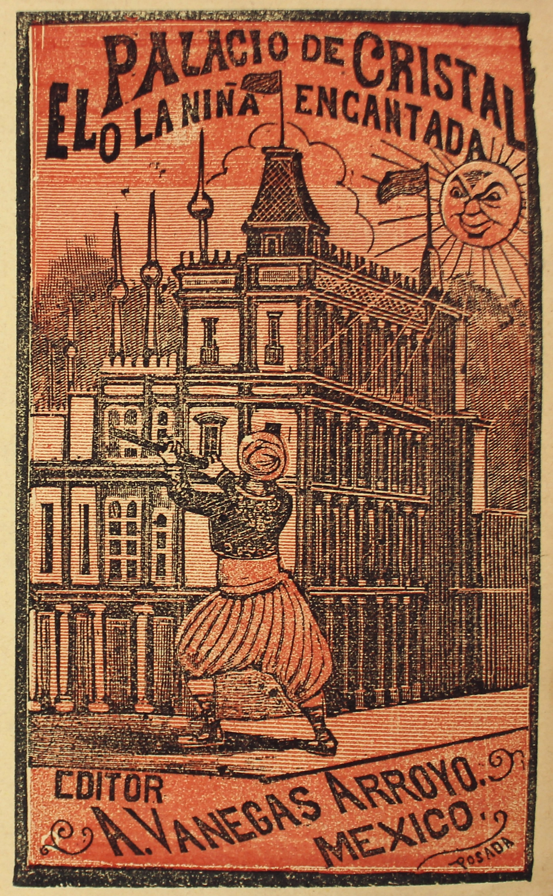 El Palacio de Cristal o La Niña Encantada by José Guadalupe Posada (1852 - 1913)