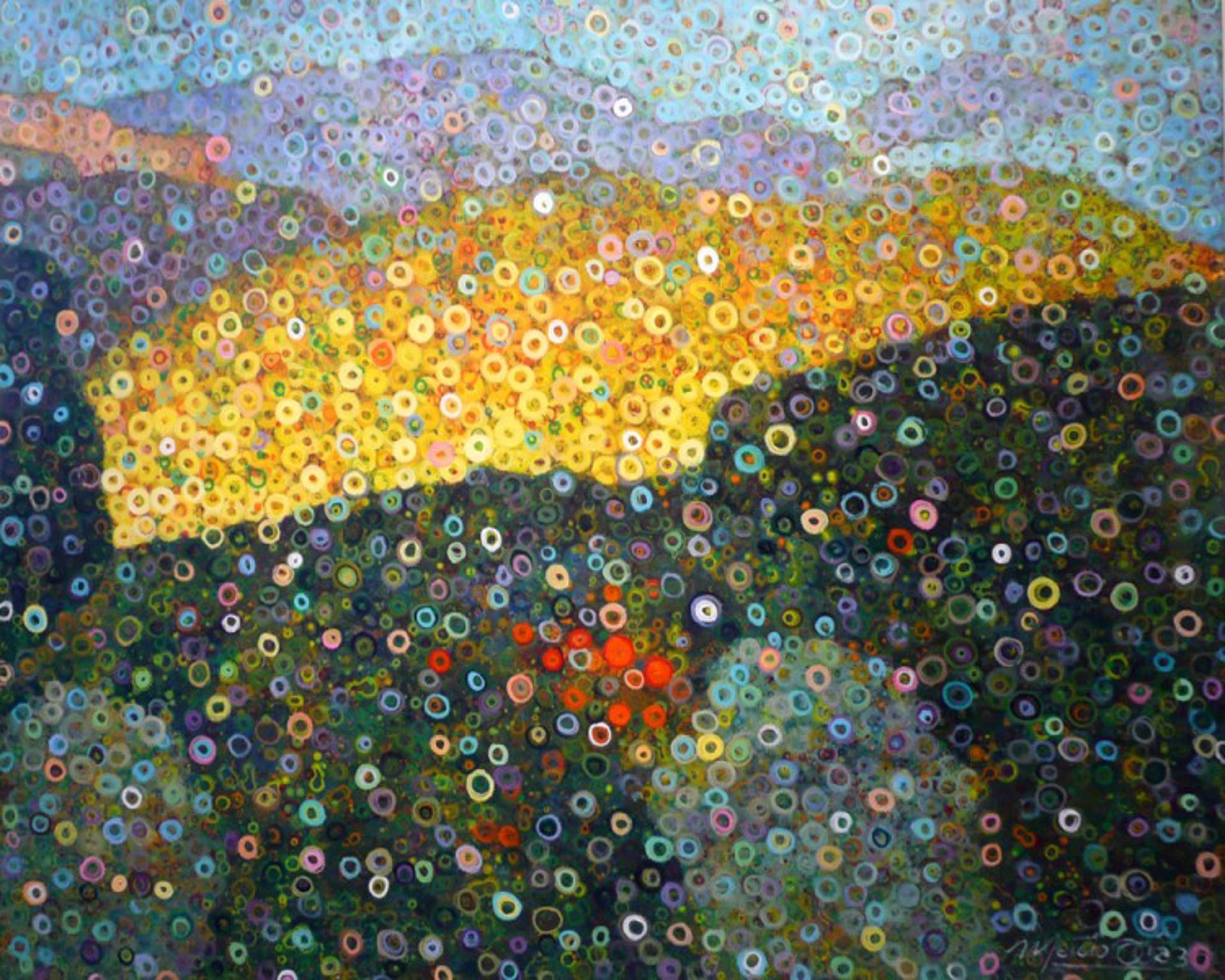 Twilight Over the Mountain by Marcio Diaz