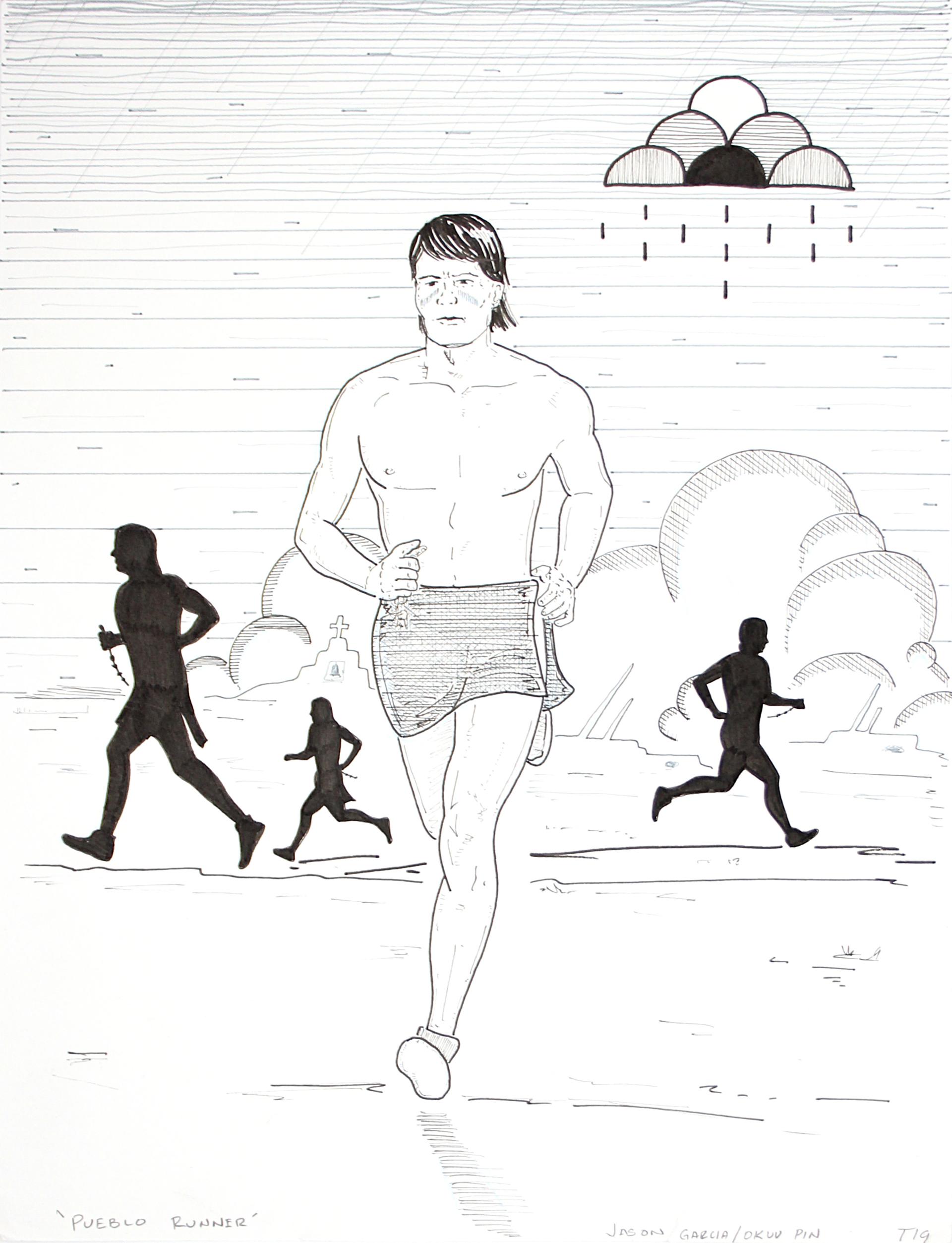 Pueblo Runner by Jason Garcia