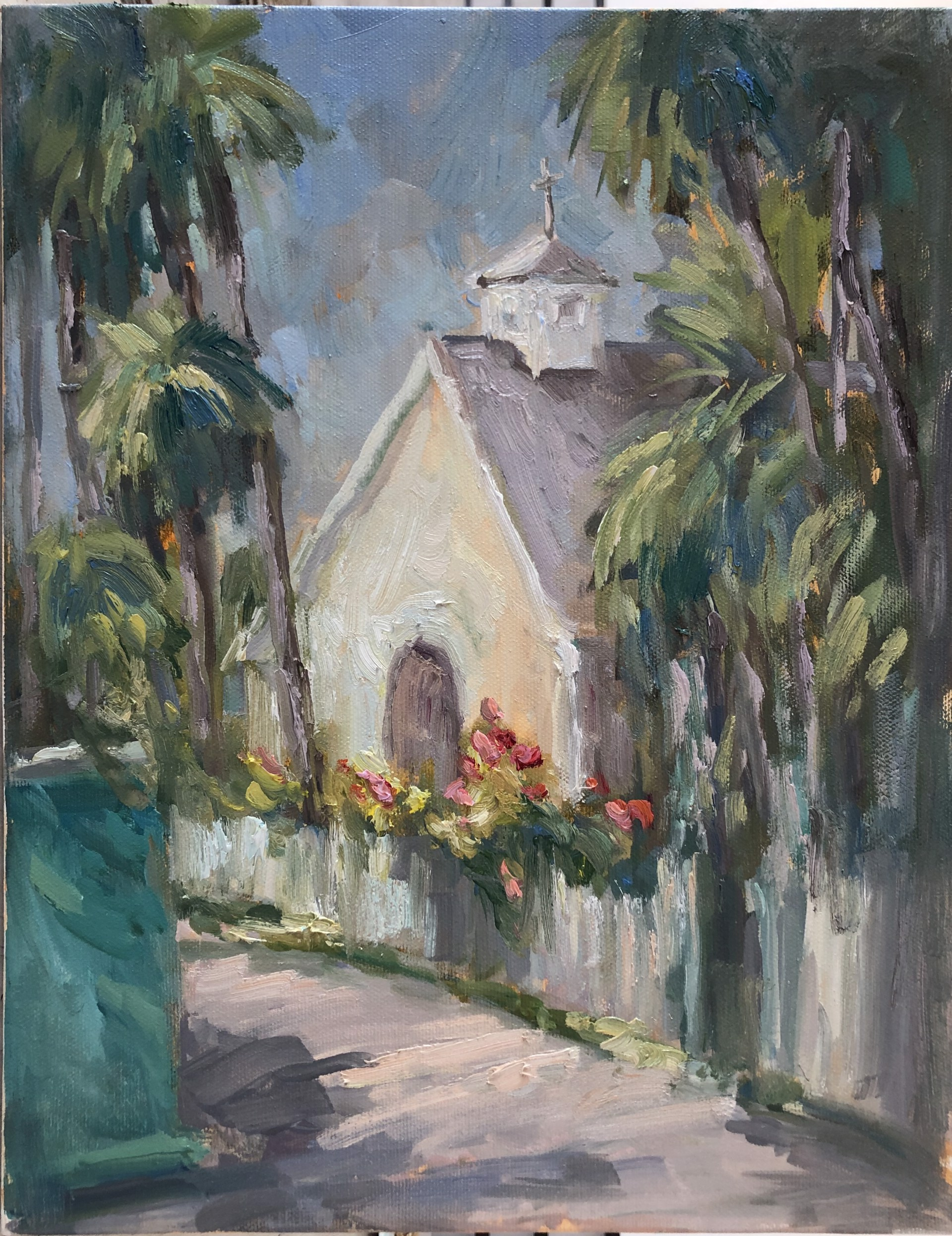 Sunday Morning in Hope Town (Abaco) by Karen Hewitt Hagan