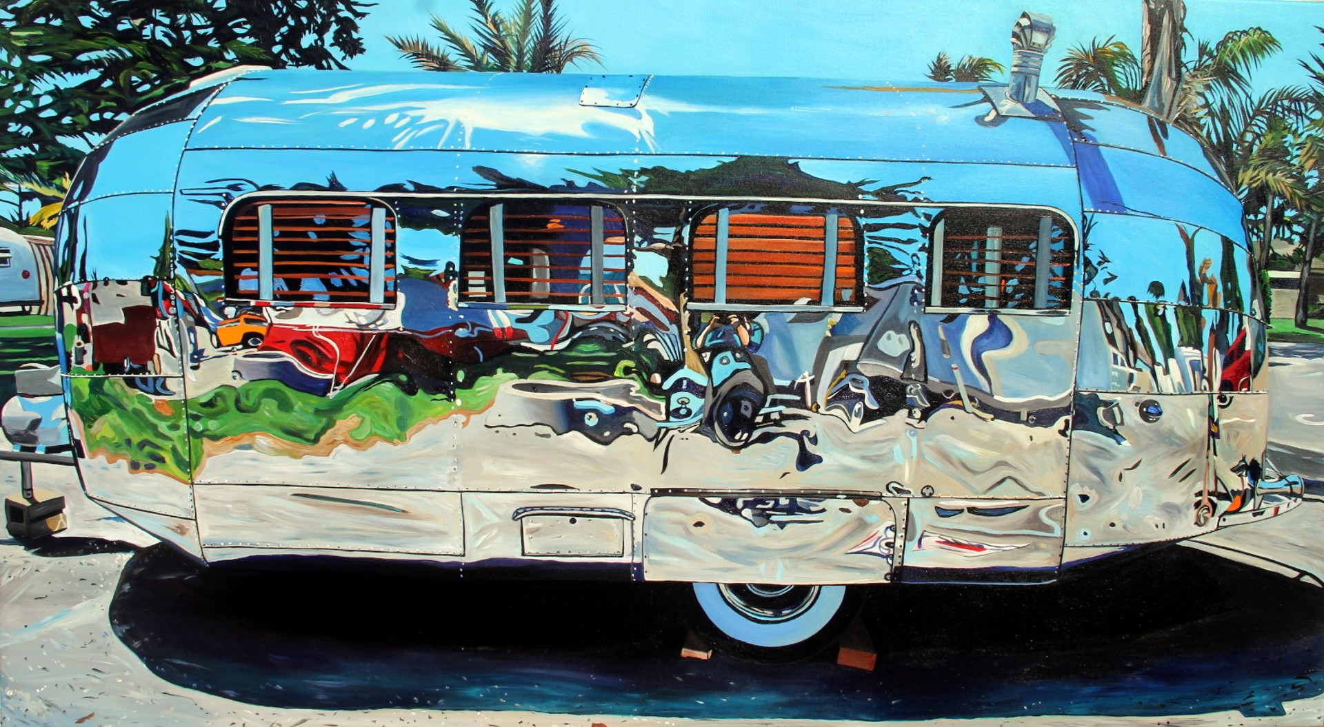 Art Deco Airstream by Taralee Guild