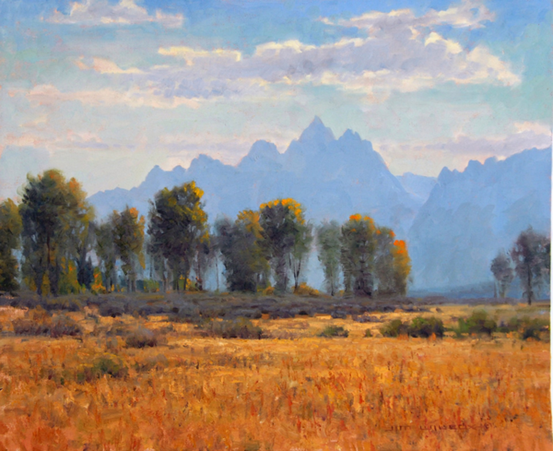 A Hint of Fall by Jim Wilcox