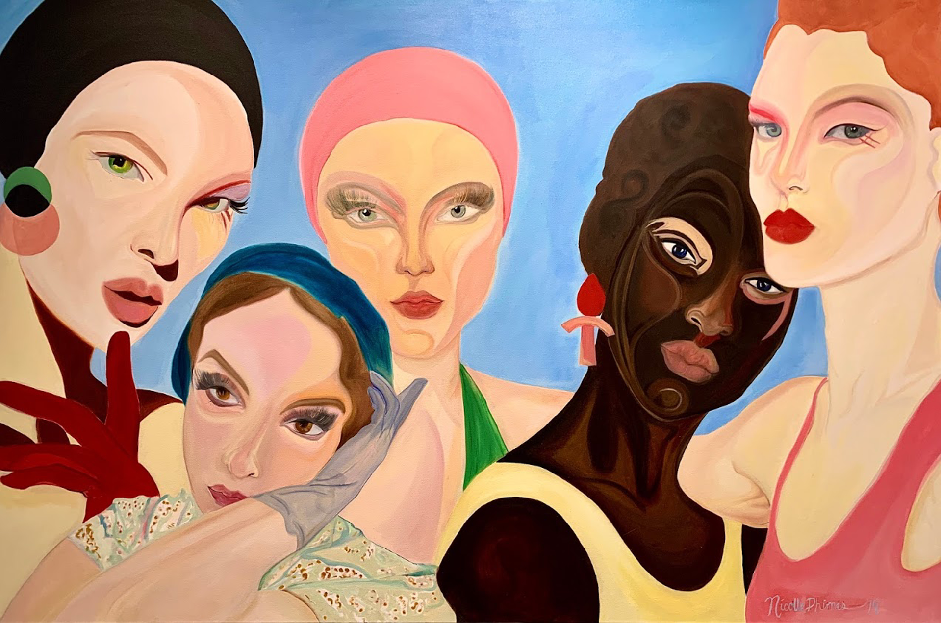Feminine Purpose by Nicolle Dhimes