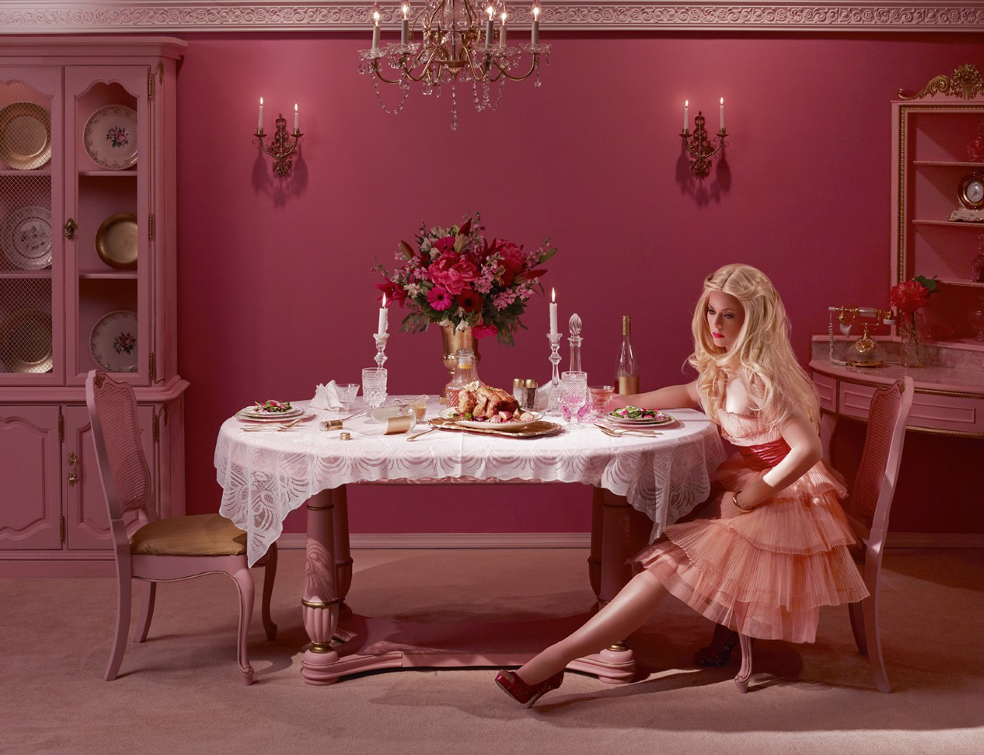 Dining Alone  by Dina Goldstein