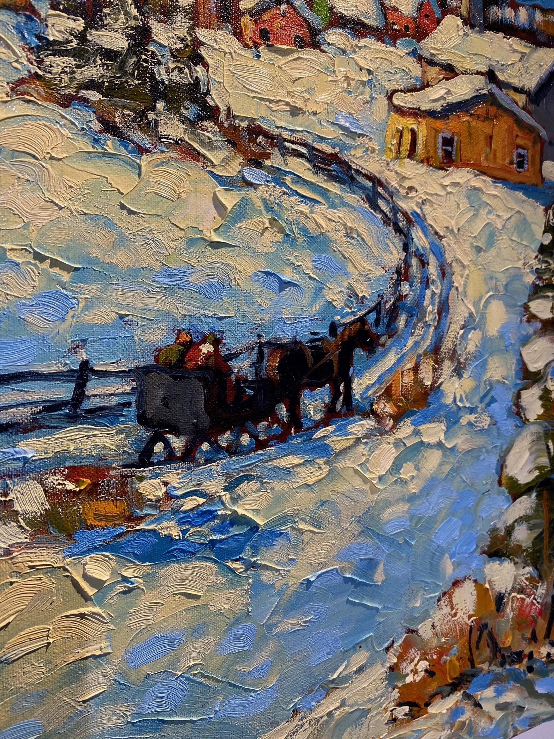 Rod Charlesworth - October Snow by Historical Art