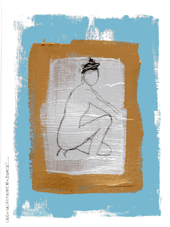 Figure No. 45 by Leslie Poteet Busker