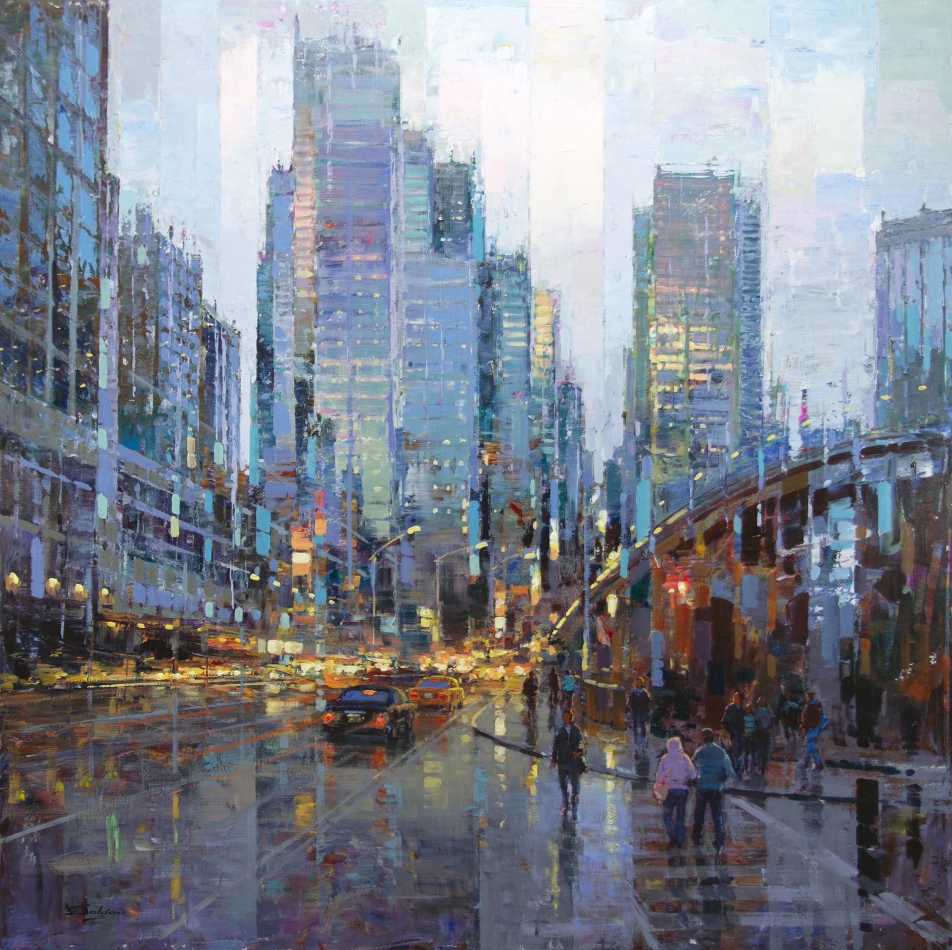 Streetlife in NYC by Vadim Dolgov