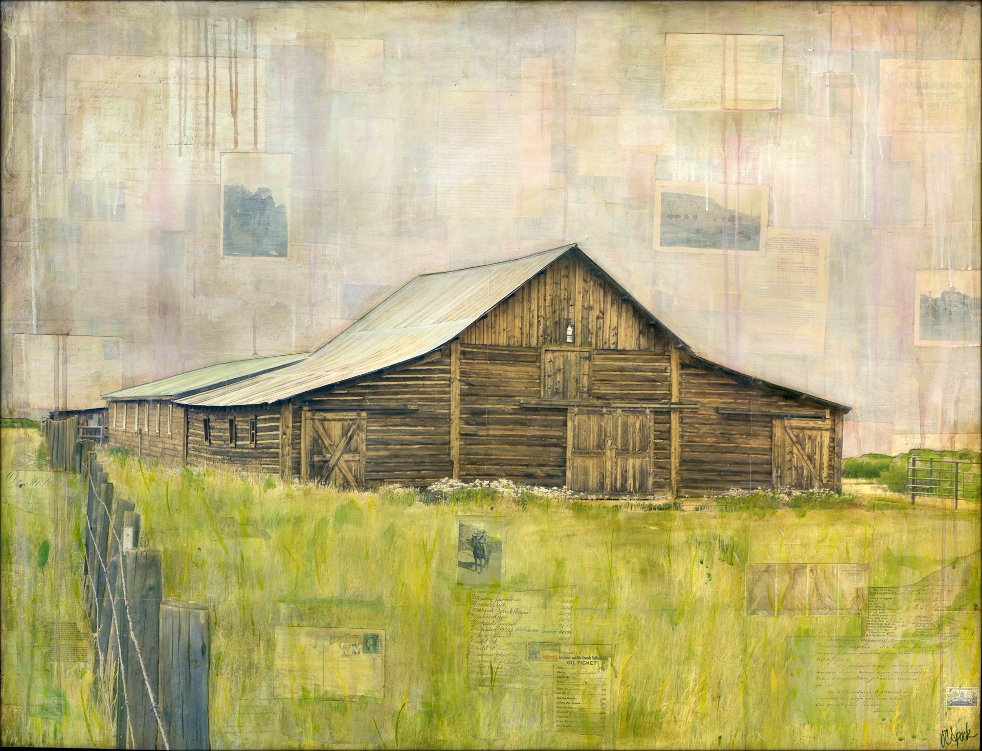 Western Barn by JC Spock