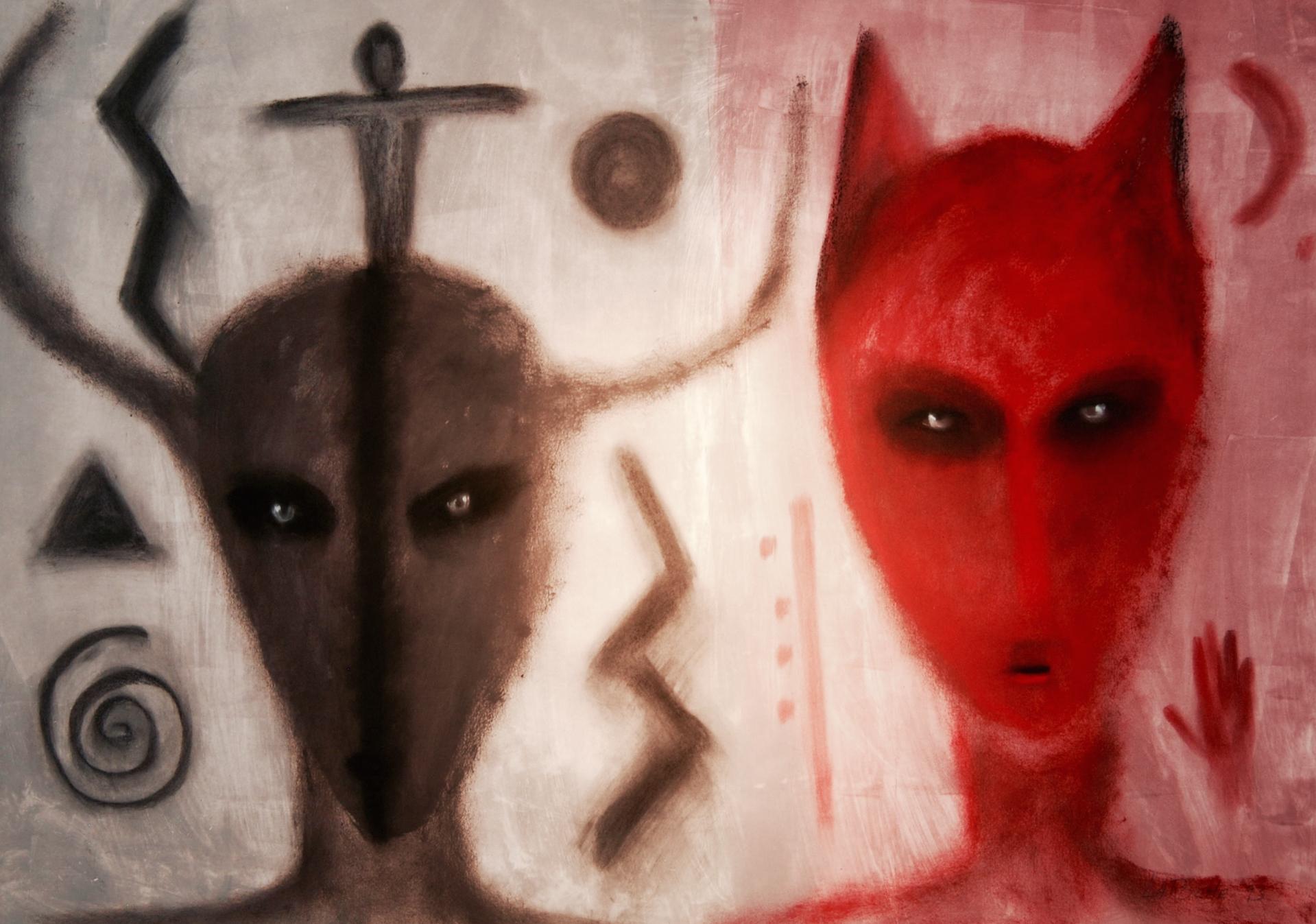 The Healers - Unframed by Carole LaRoche