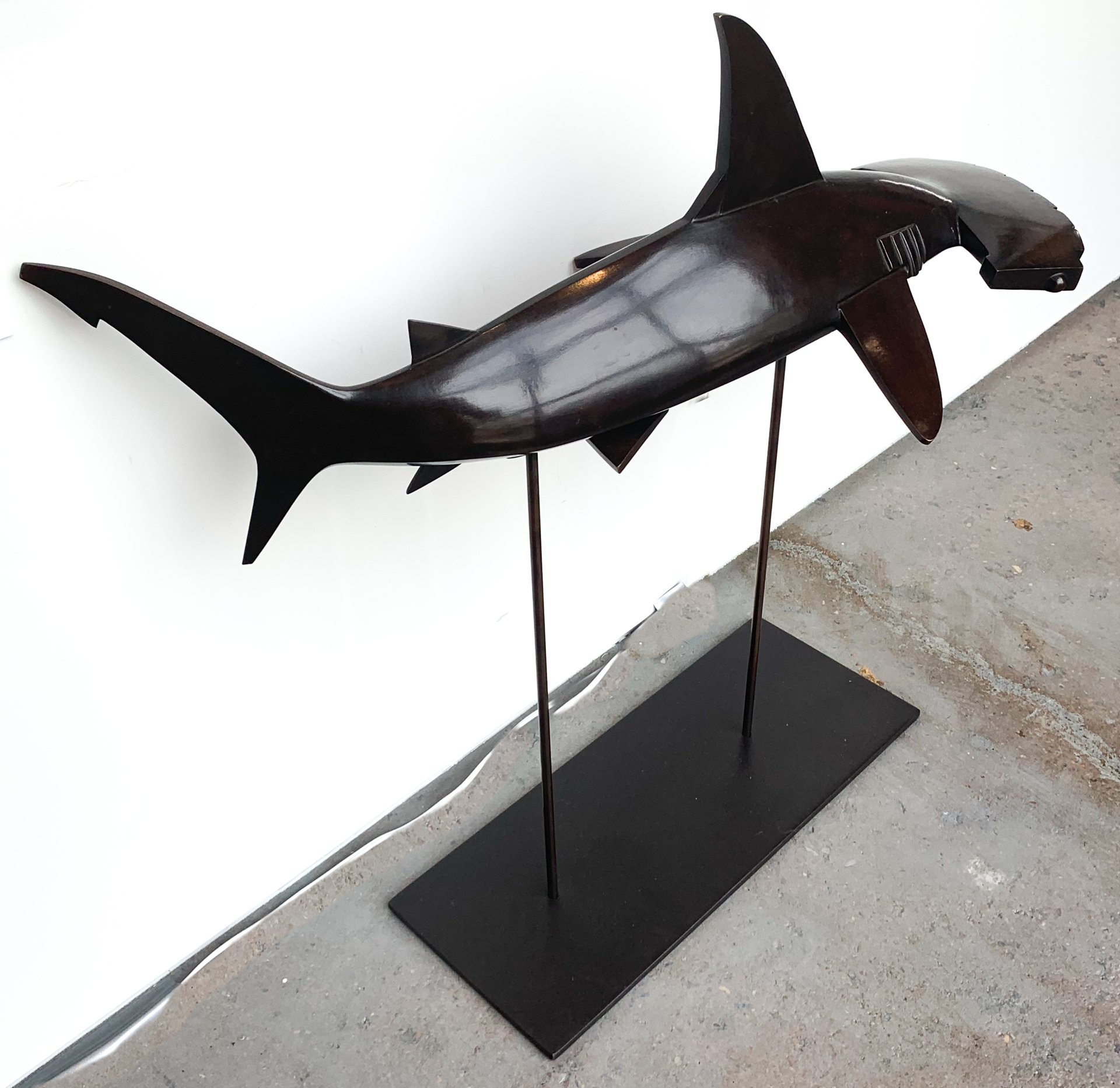 Hammer Head Shark by Jennifer Troice