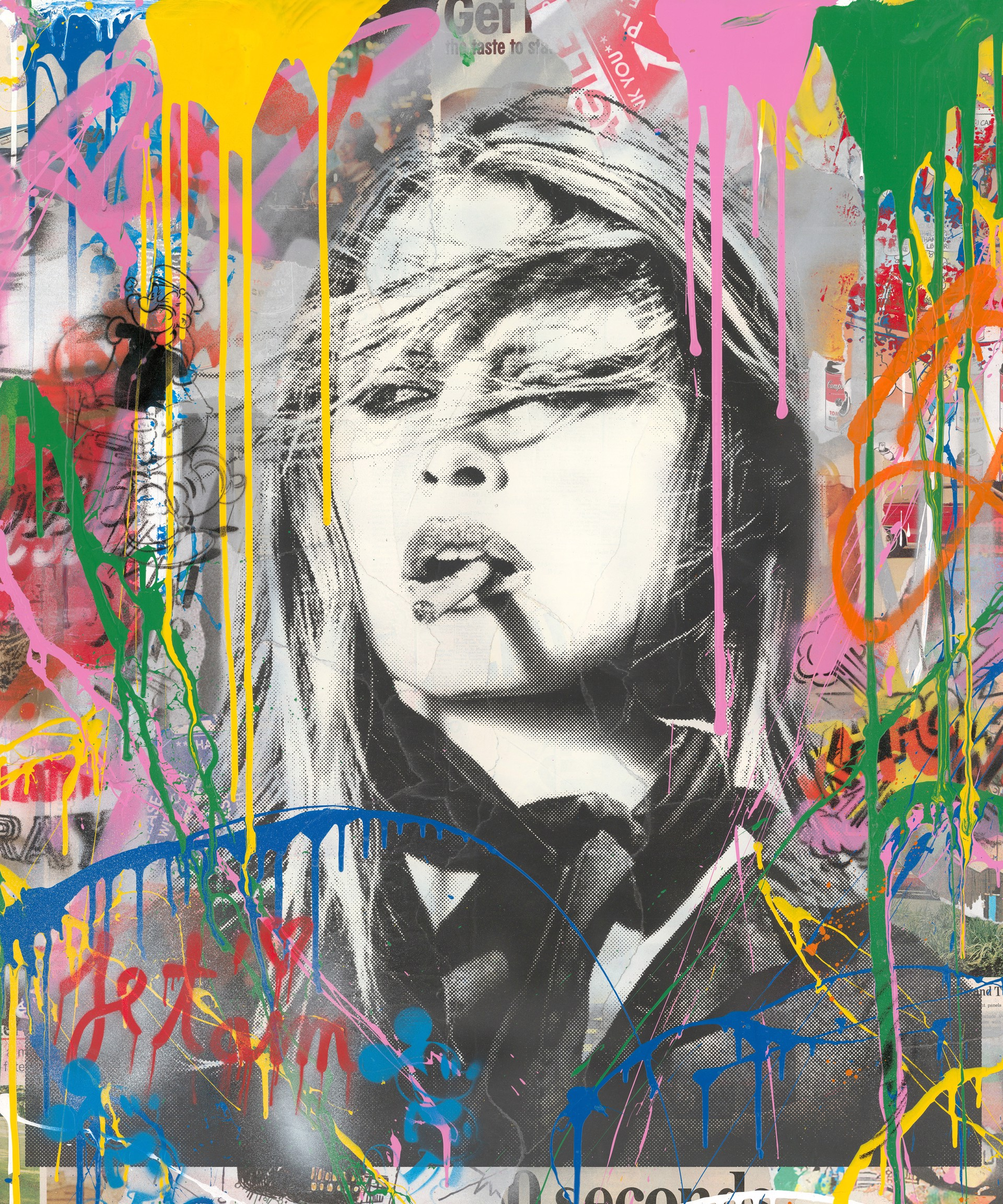Bridgitte Bardot by Mr. Brainwash (b. 1966)