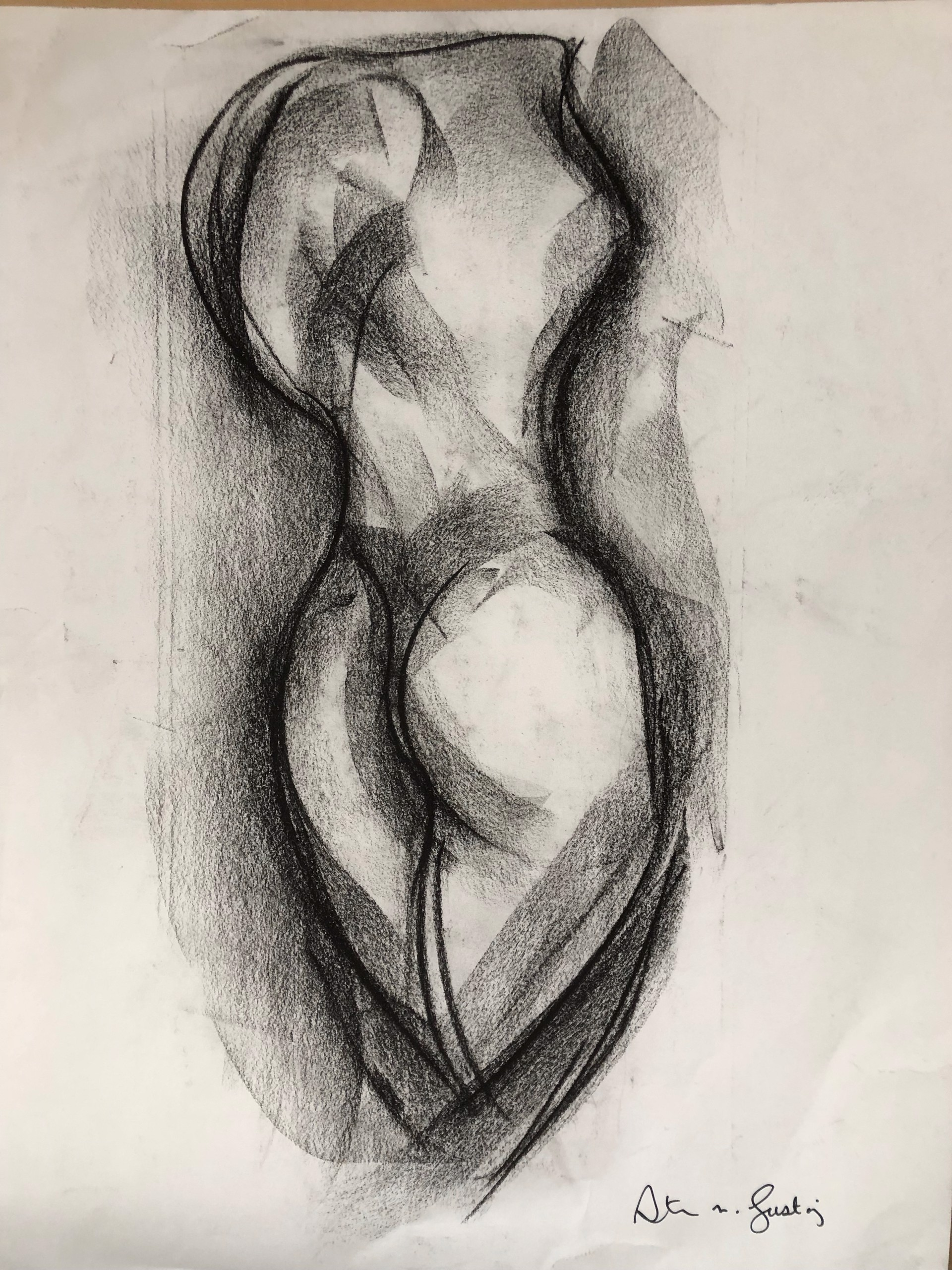 Untitled (Drawing for Sculpture) by Steven Lustig