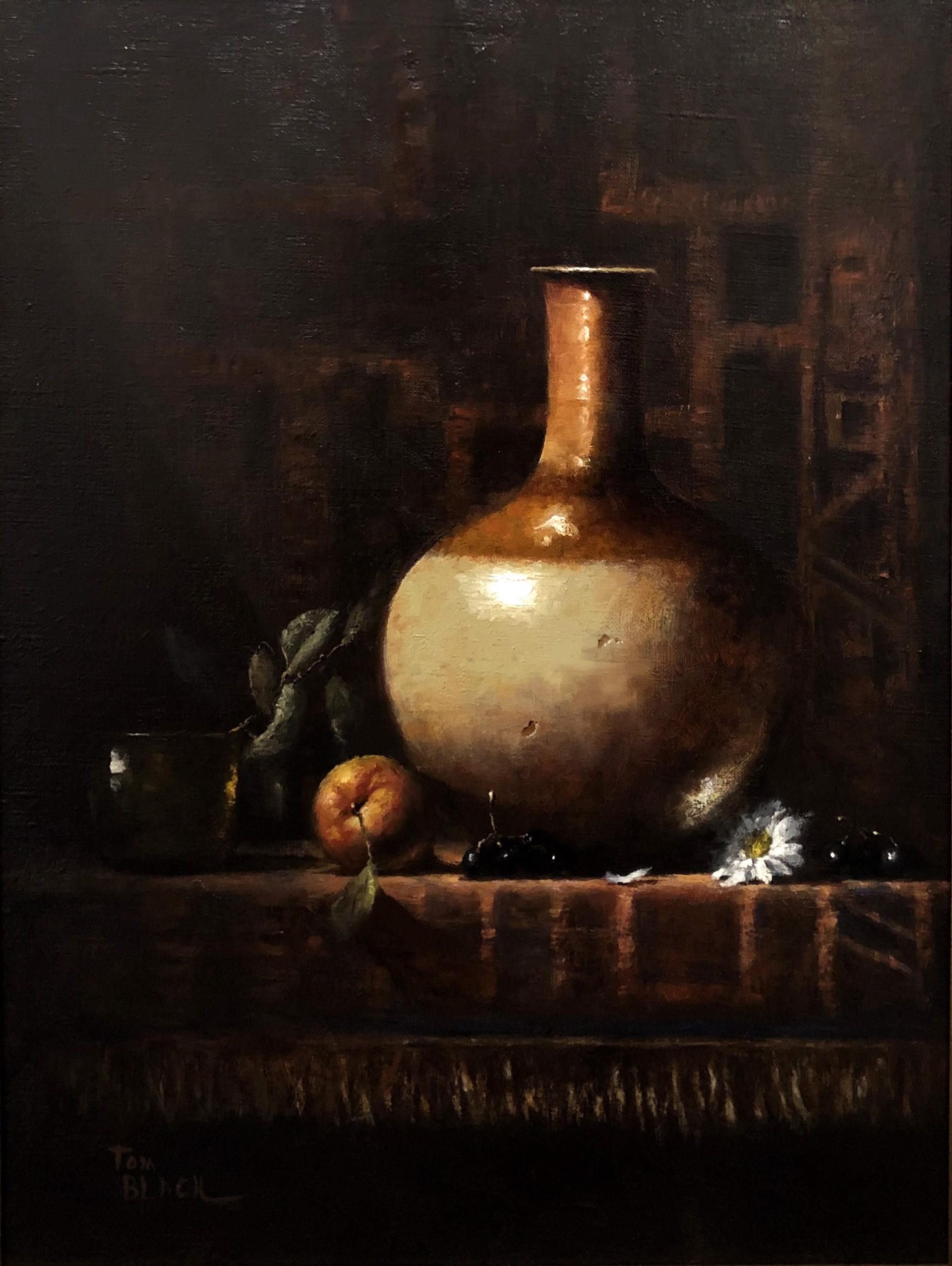 Still Life with Vase by Tom Black