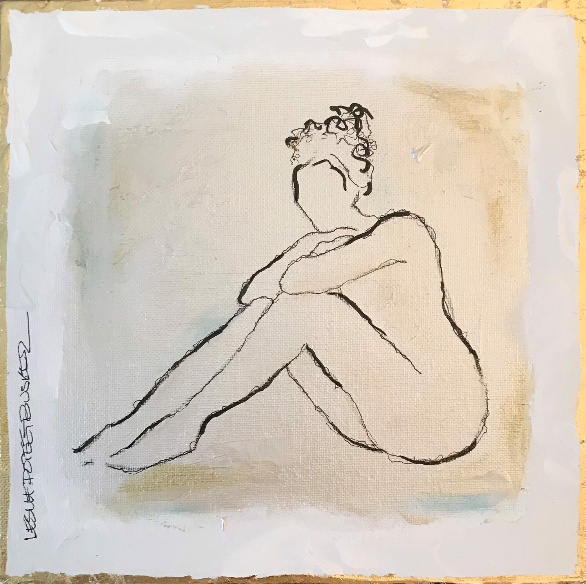Figure No. 105 by Leslie Poteet Busker