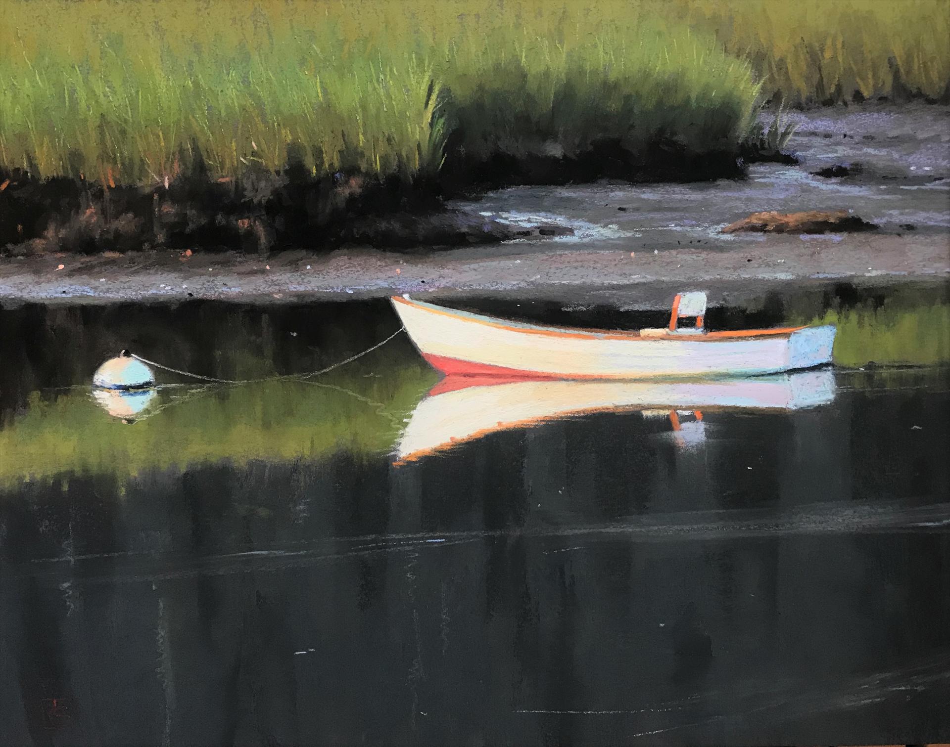 Marsh Mooring by Lisa Gleim