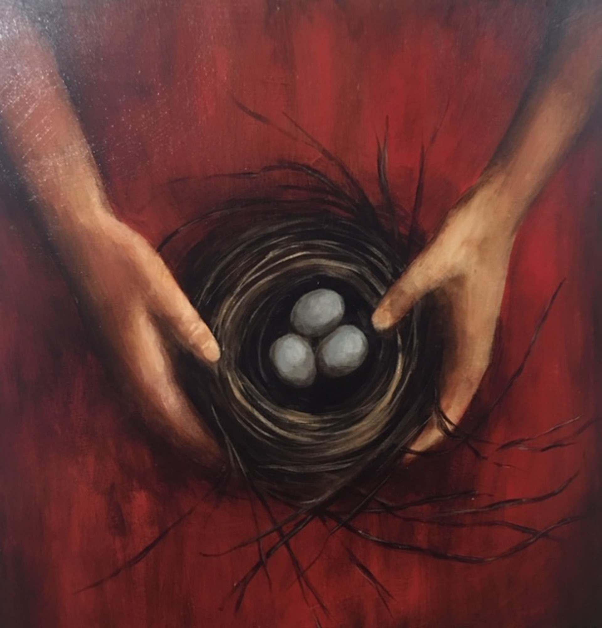 As I Carry the Nest by Laura Bowman