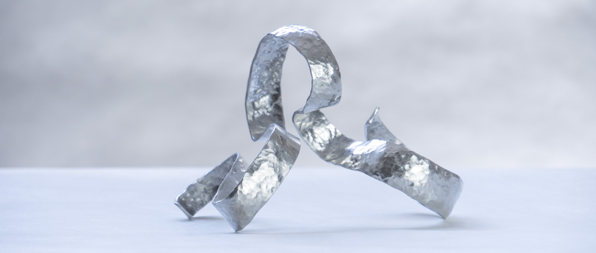 """Waves"" Napkin rings  by Jacques Jarrige"