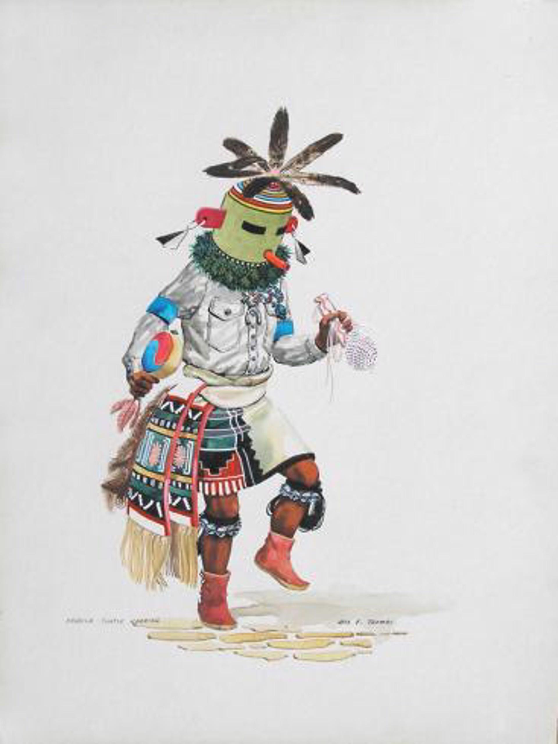 Kahaila - Turtle Kachina by Otis Thomas