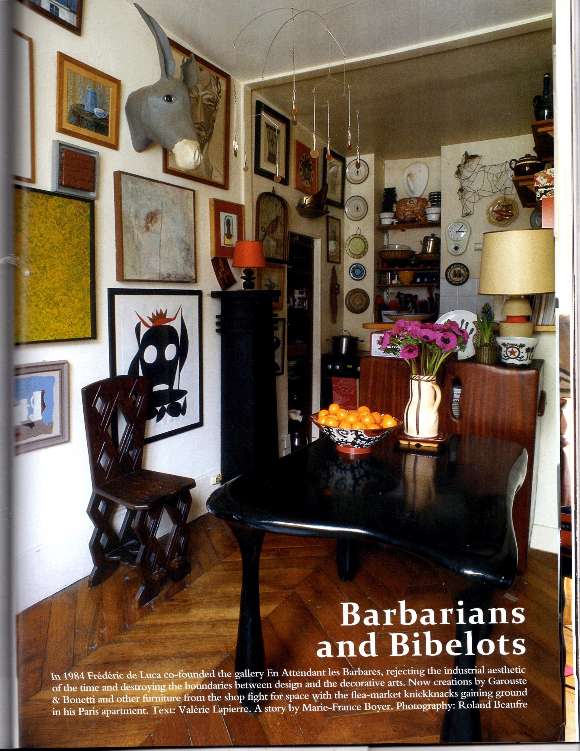 The World of Interiors, September 2011 - Jacques Jarrige