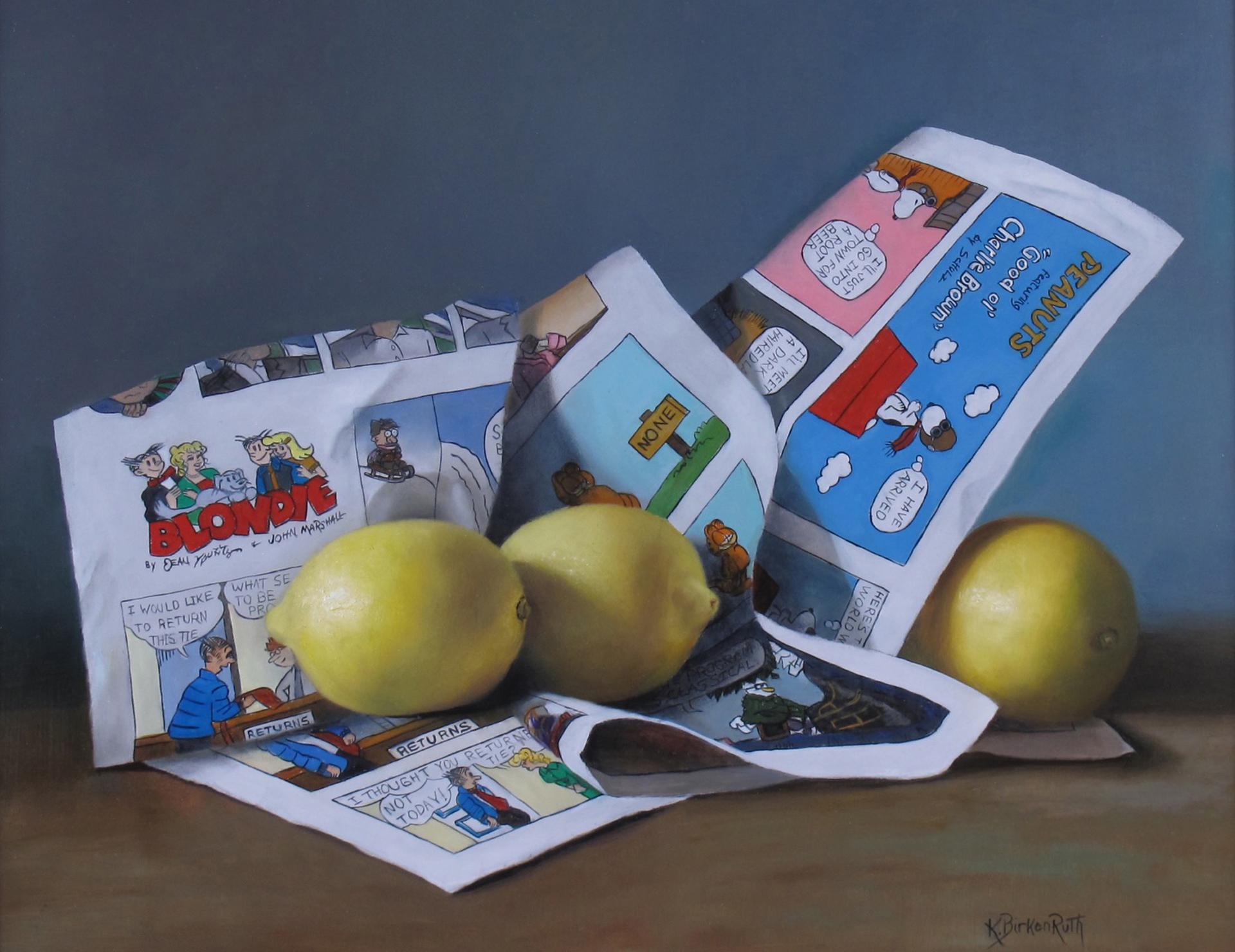 Citrusy Smiles by Kelly Birkenruth