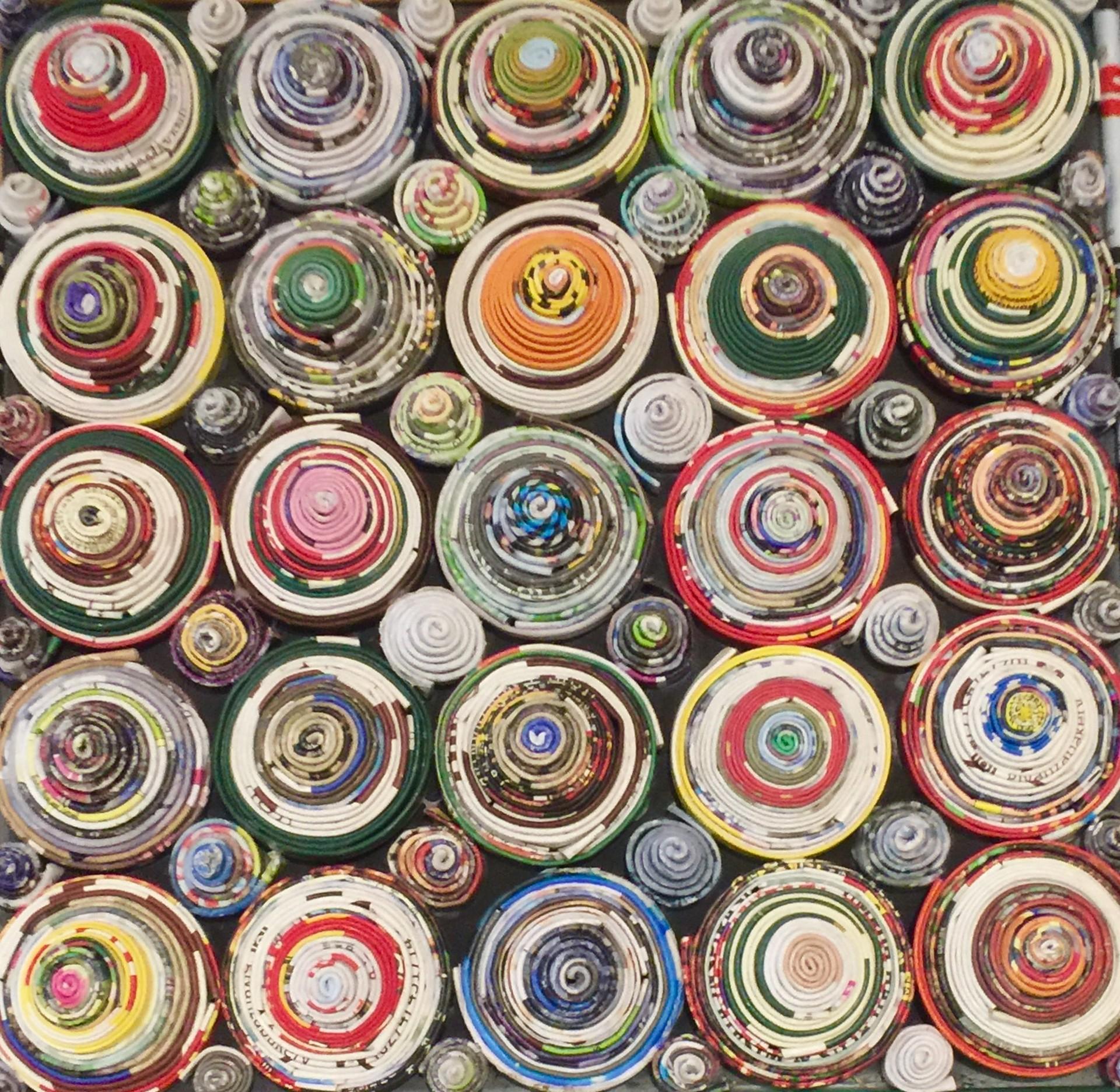 """Media Magic"" Conical Circles by Sumath Kusu Maso"