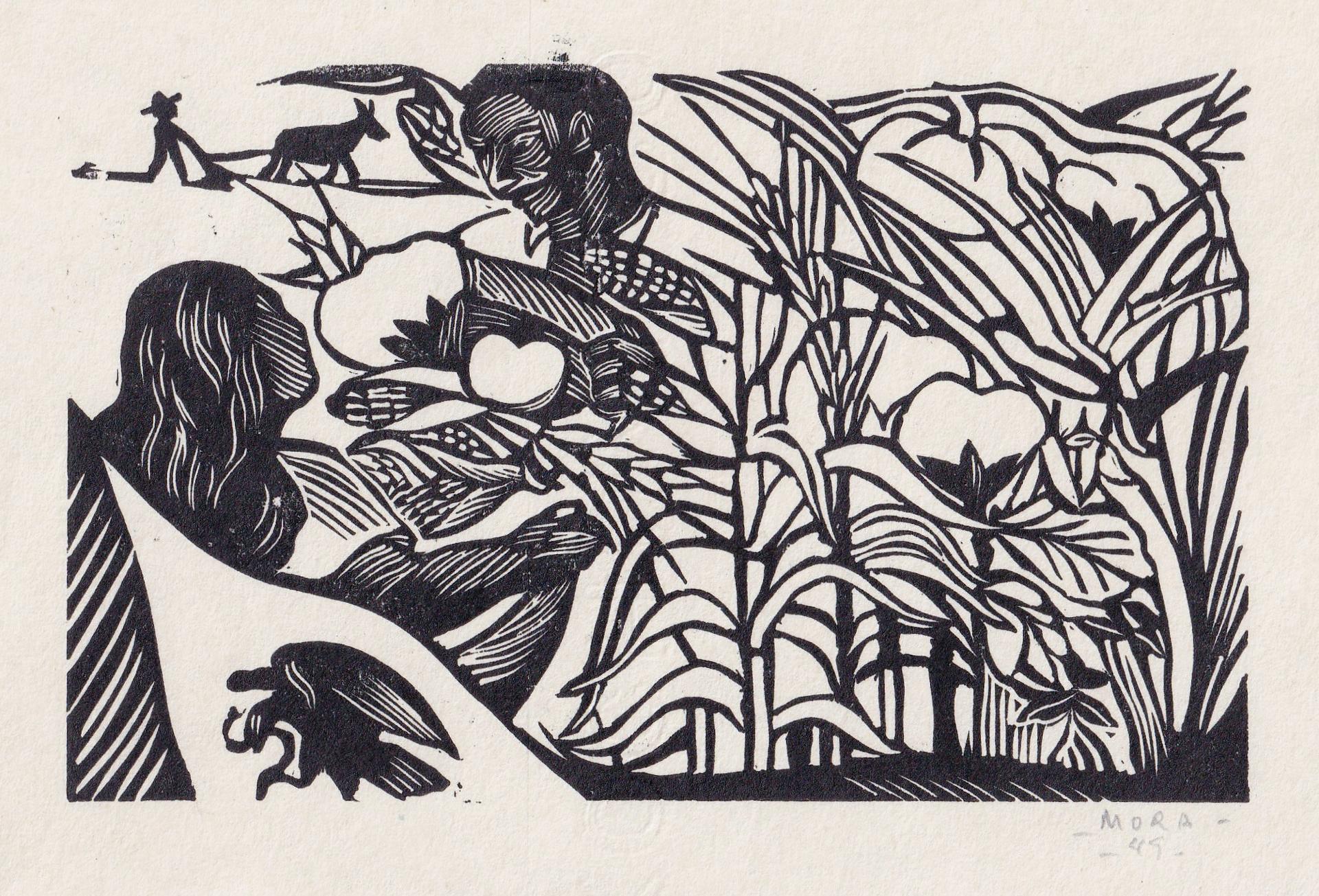 Cosecha by Francisco Mora (1922 - 2002)