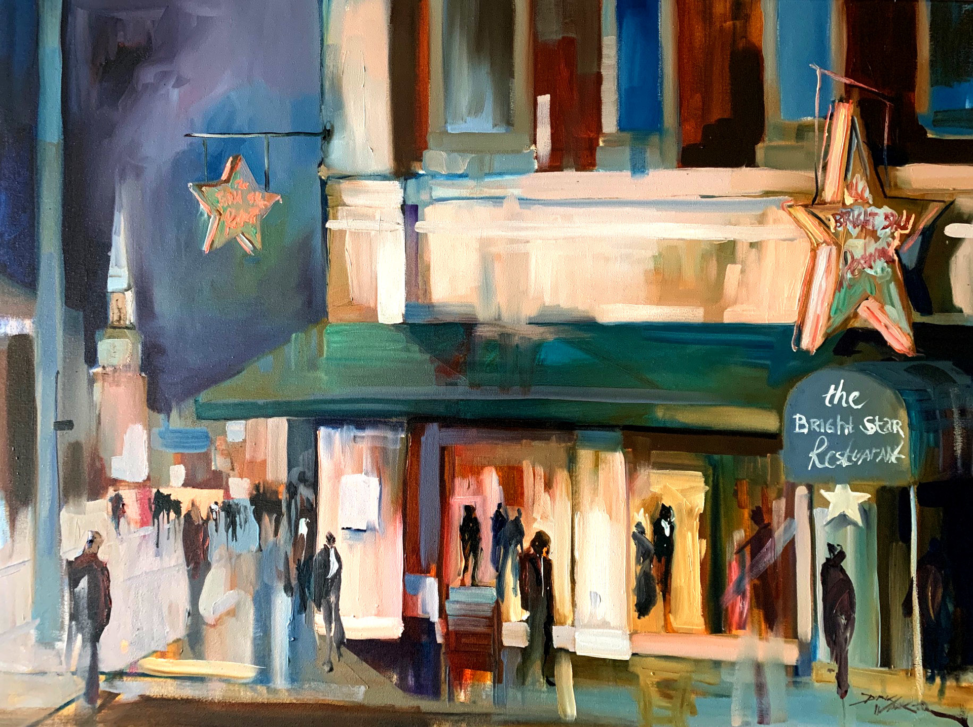 Since 1907, The Bright Star Restaurant  by Dirk Walker